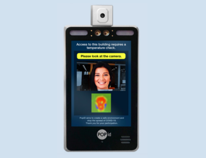 PopID facial recognition software