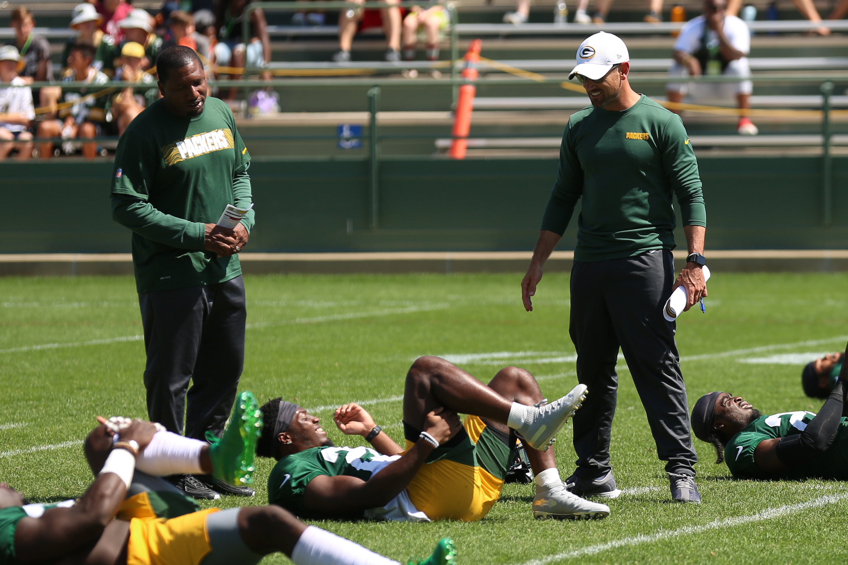 NFL: AUG 19 Packers Training Camp