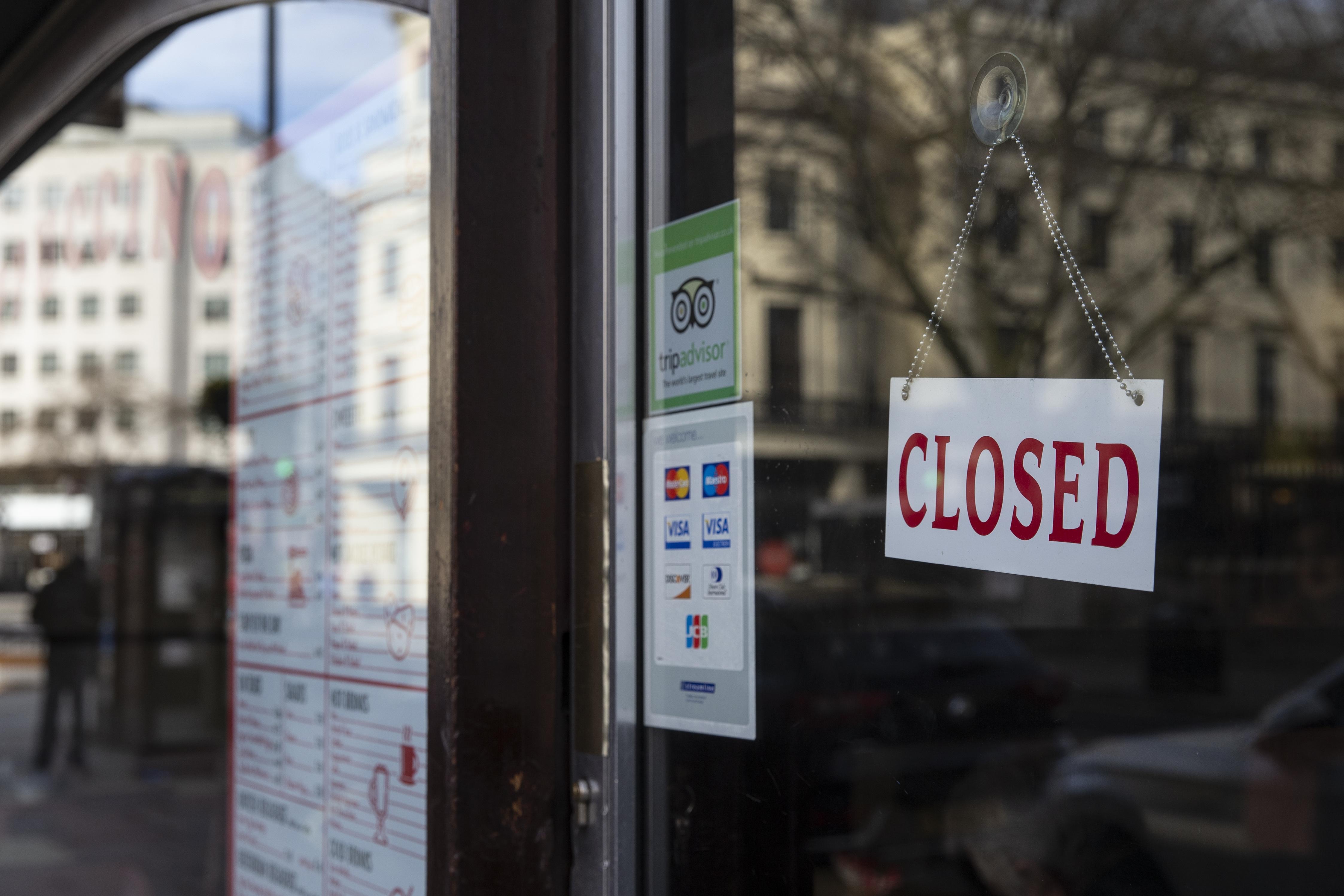 Londoners Feel The Impact Of Shutdowns Due To Coronavirus