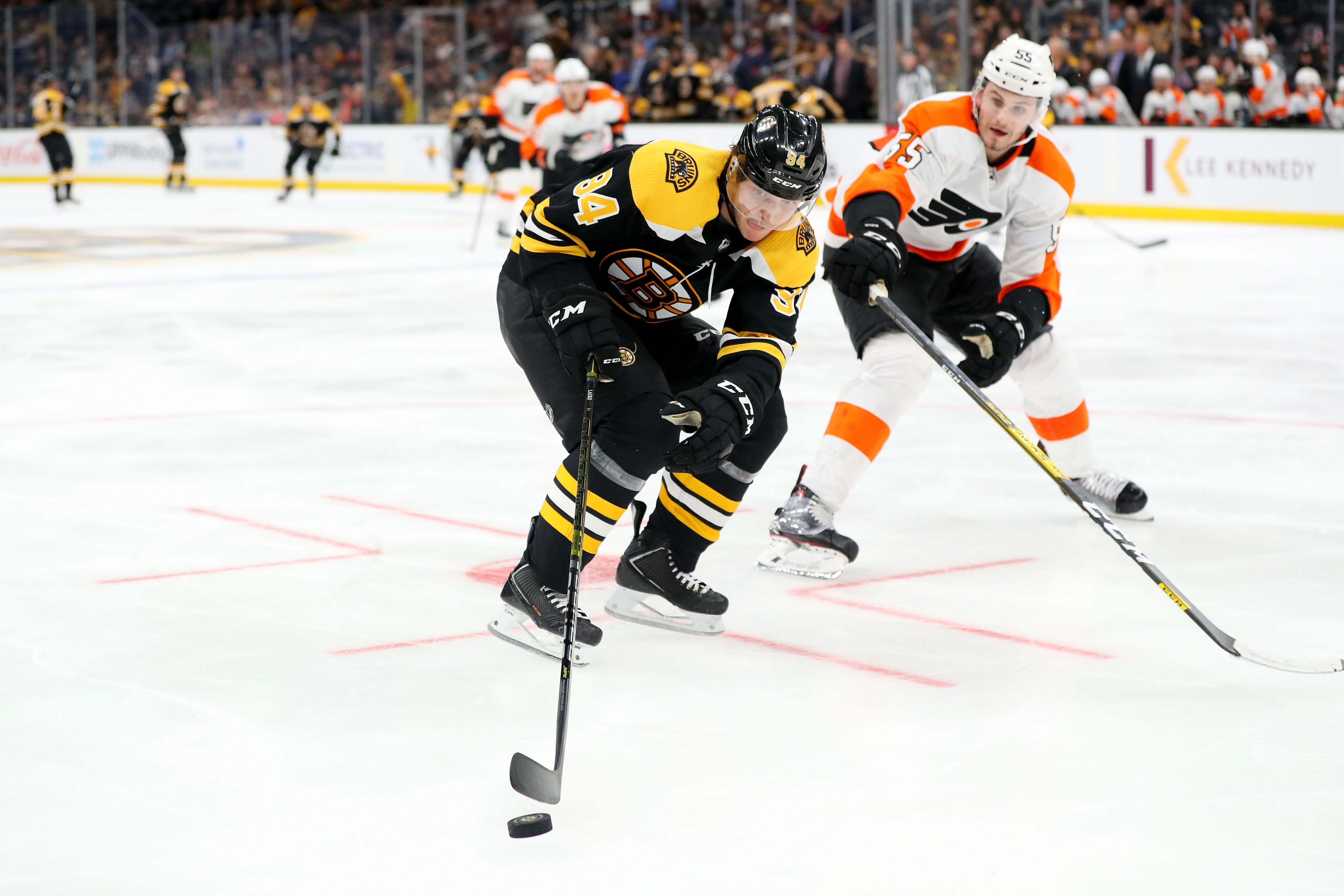 Philadelphia Flyers v Boston Bruins