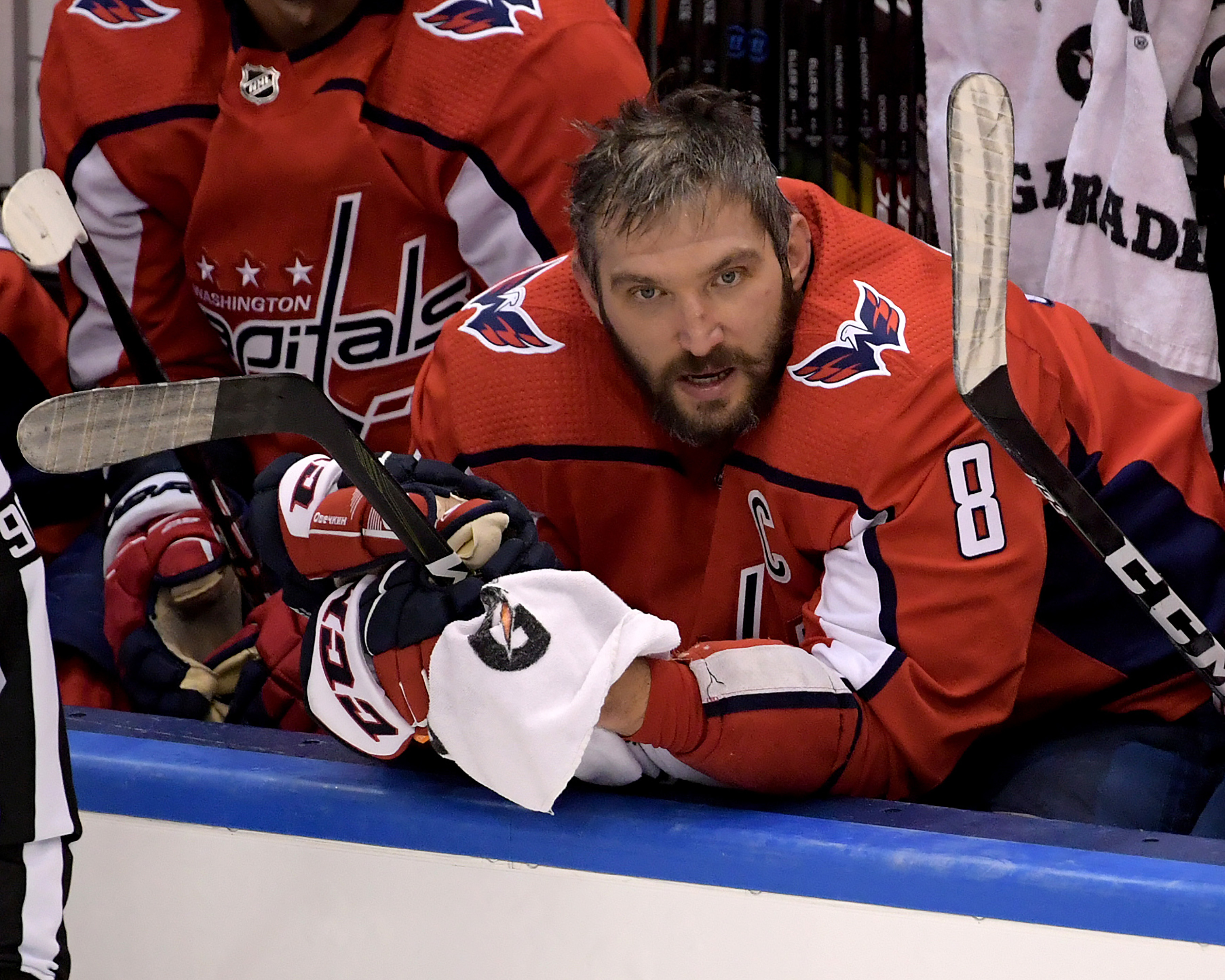 NHL: Stanley Cup Playoffs-New York Islanders at Washington Capitals