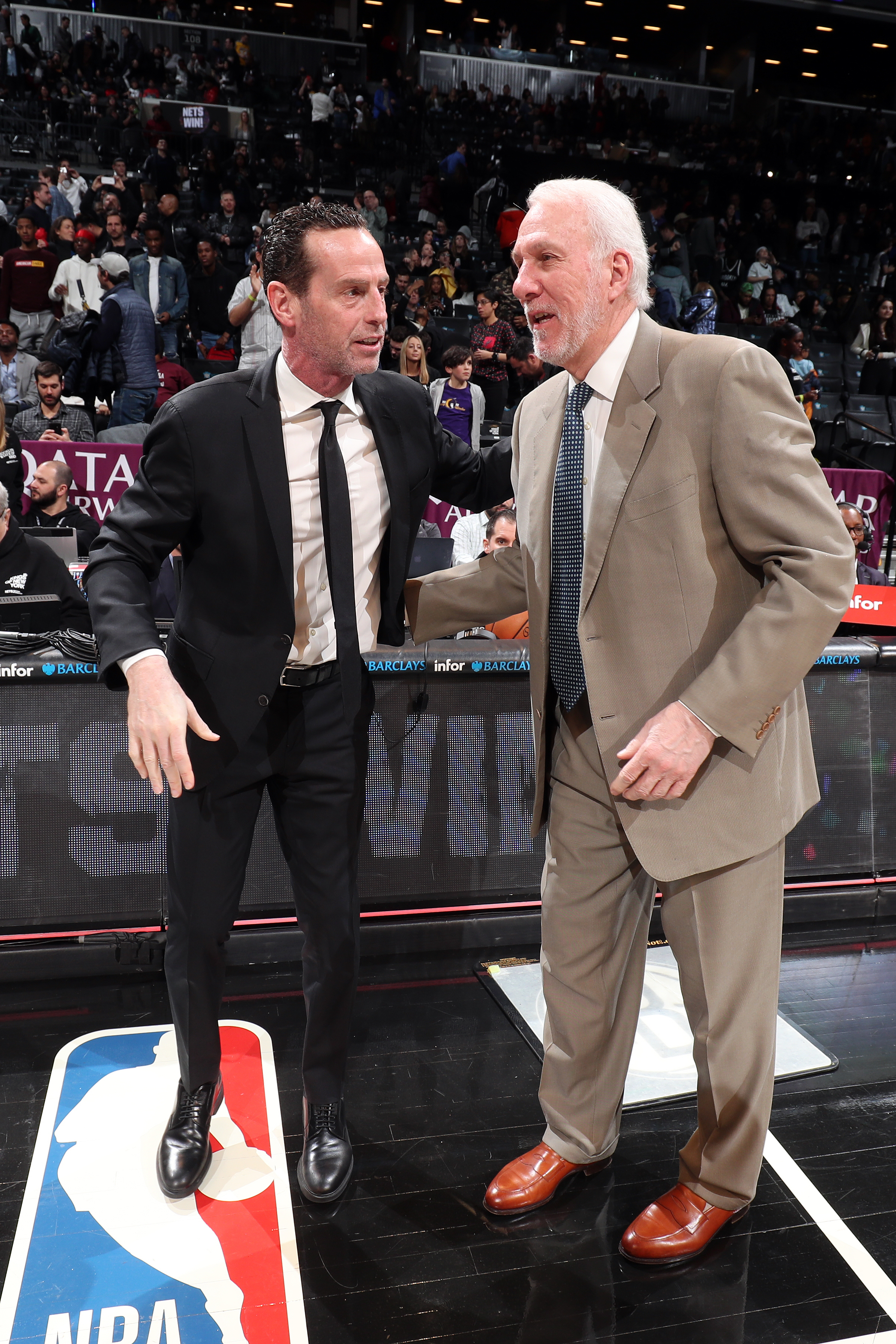 San Antonio Spurs v Brooklyn Nets
