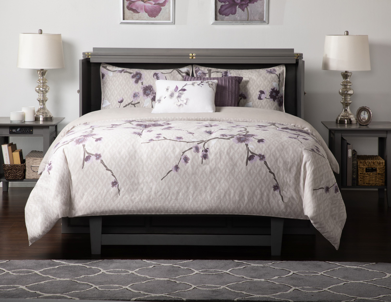 Open murphy bed.
