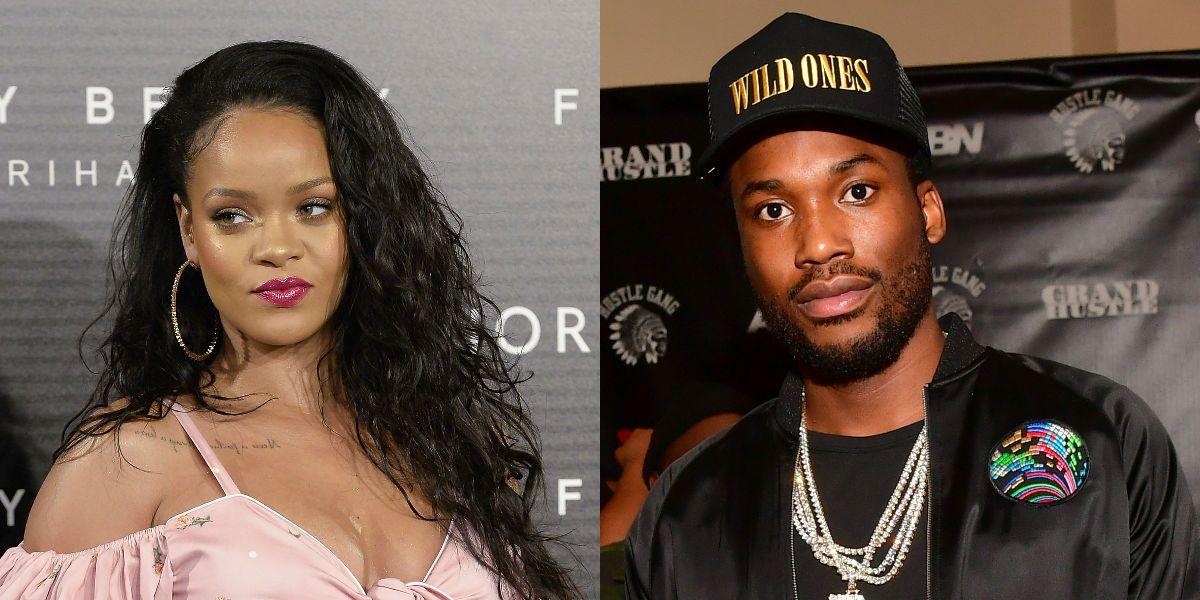 Rihanna and Meek Mill