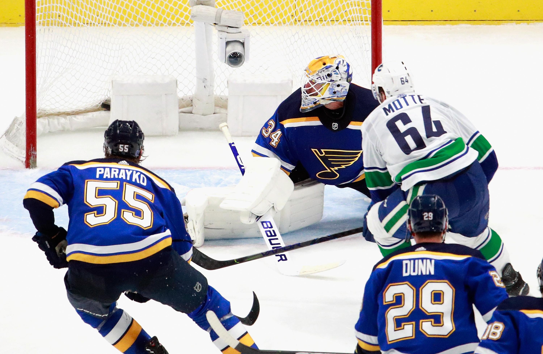 Vancouver Canucks v St Louis Blues - Game Five