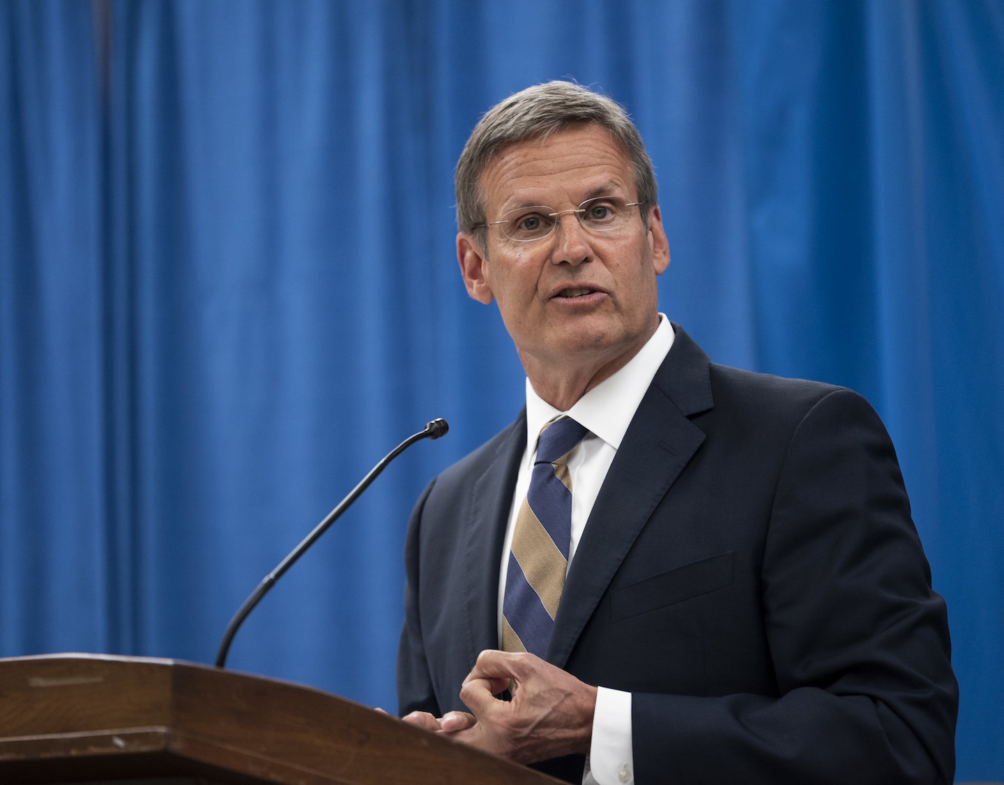 Gov. Bill Lee has been at the helm of Tennessee during the coronavirus pandemic.