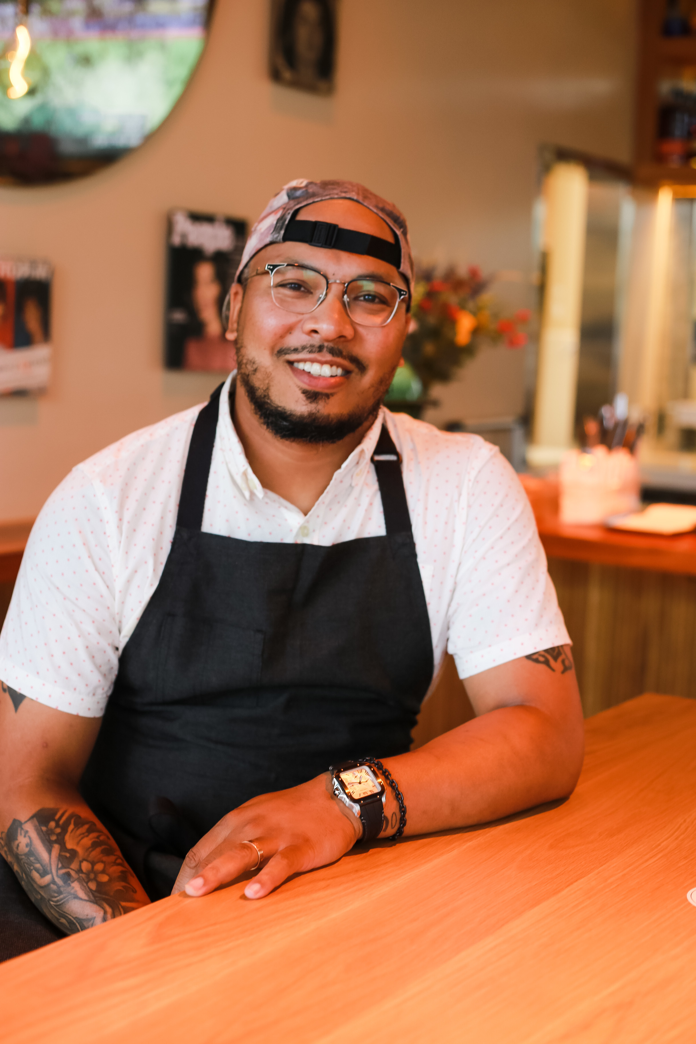 Chef Jerome Grant took over the kitchen at Jackie, the rebranded restaurant attached to Dacha Navy Yard,