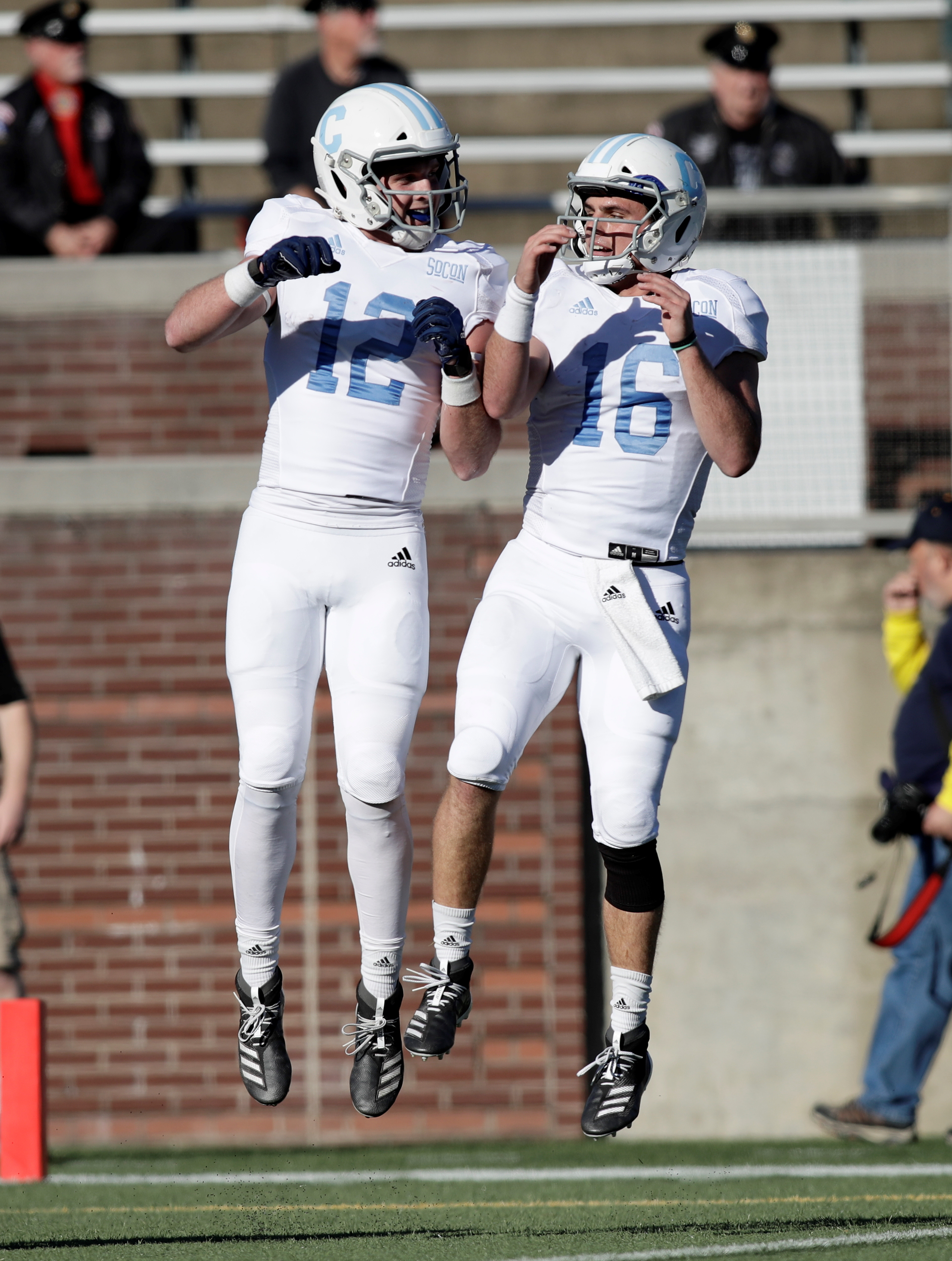 COLLEGE FOOTBALL: NOV 16 The Citadel at Chattanooga