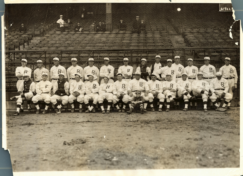 Brooklyn Dodgers Team Photo
