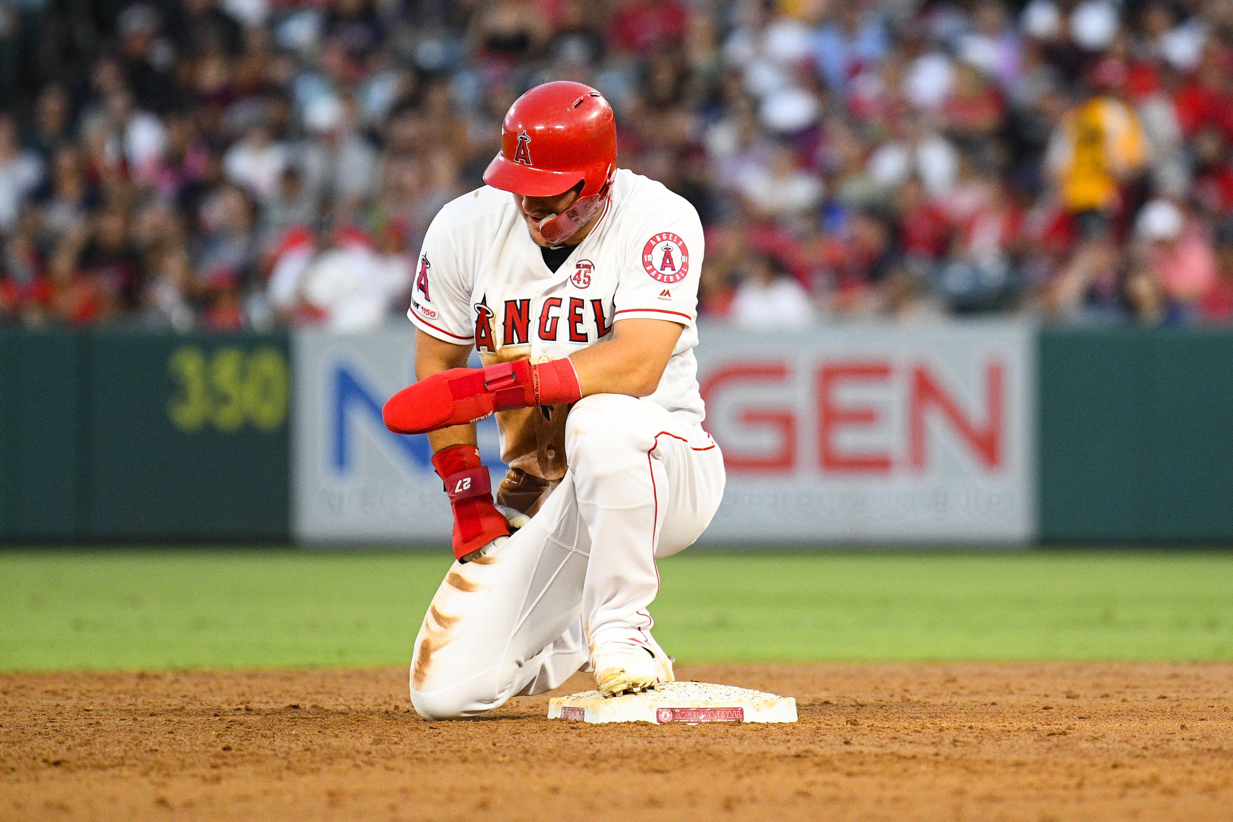 MLB: AUG 31 Red Sox at Angels