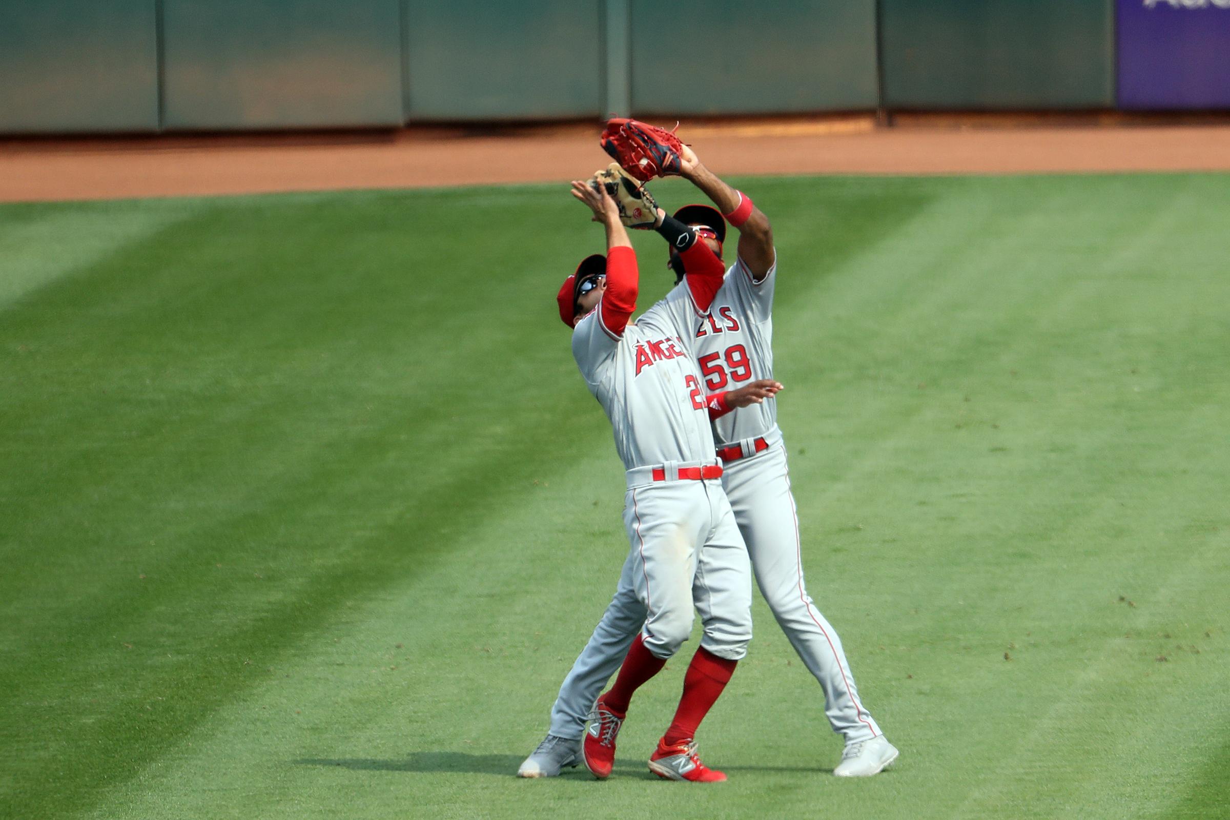 MLB: AUG 23 Angels at Athletics
