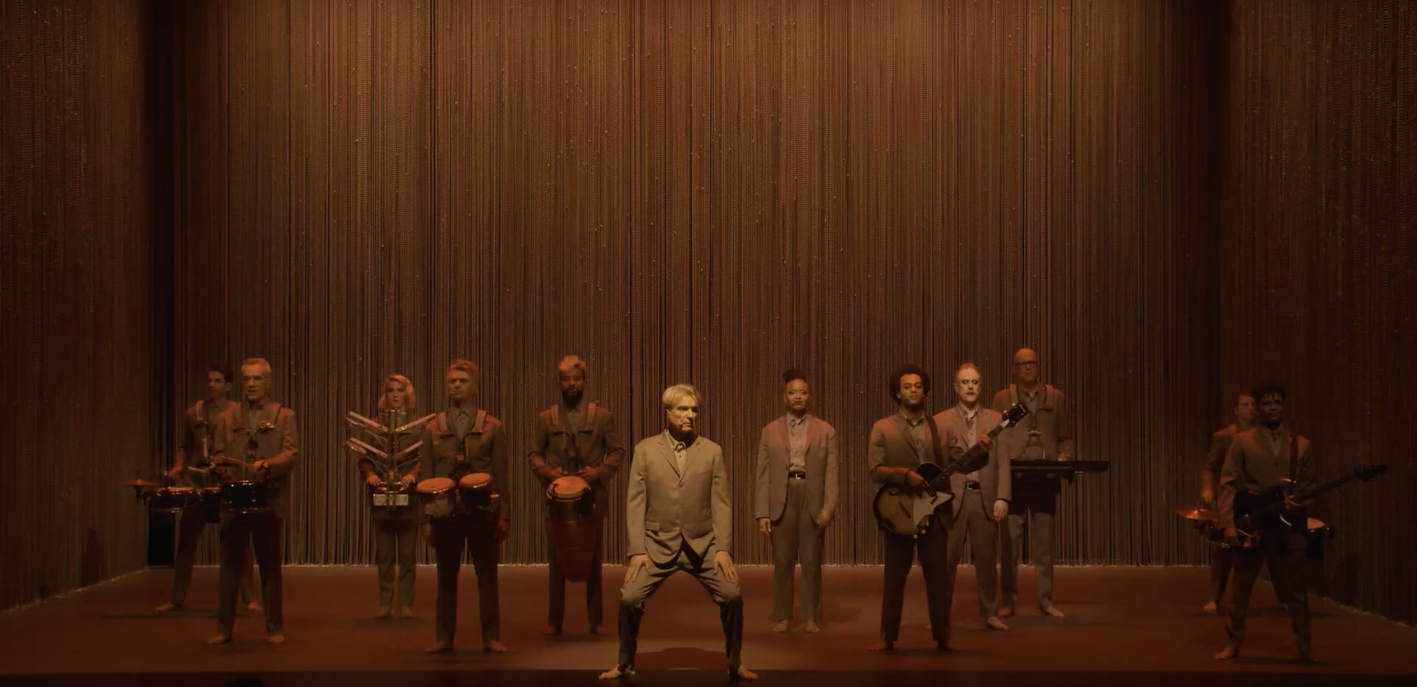david byrne and company in american utopia