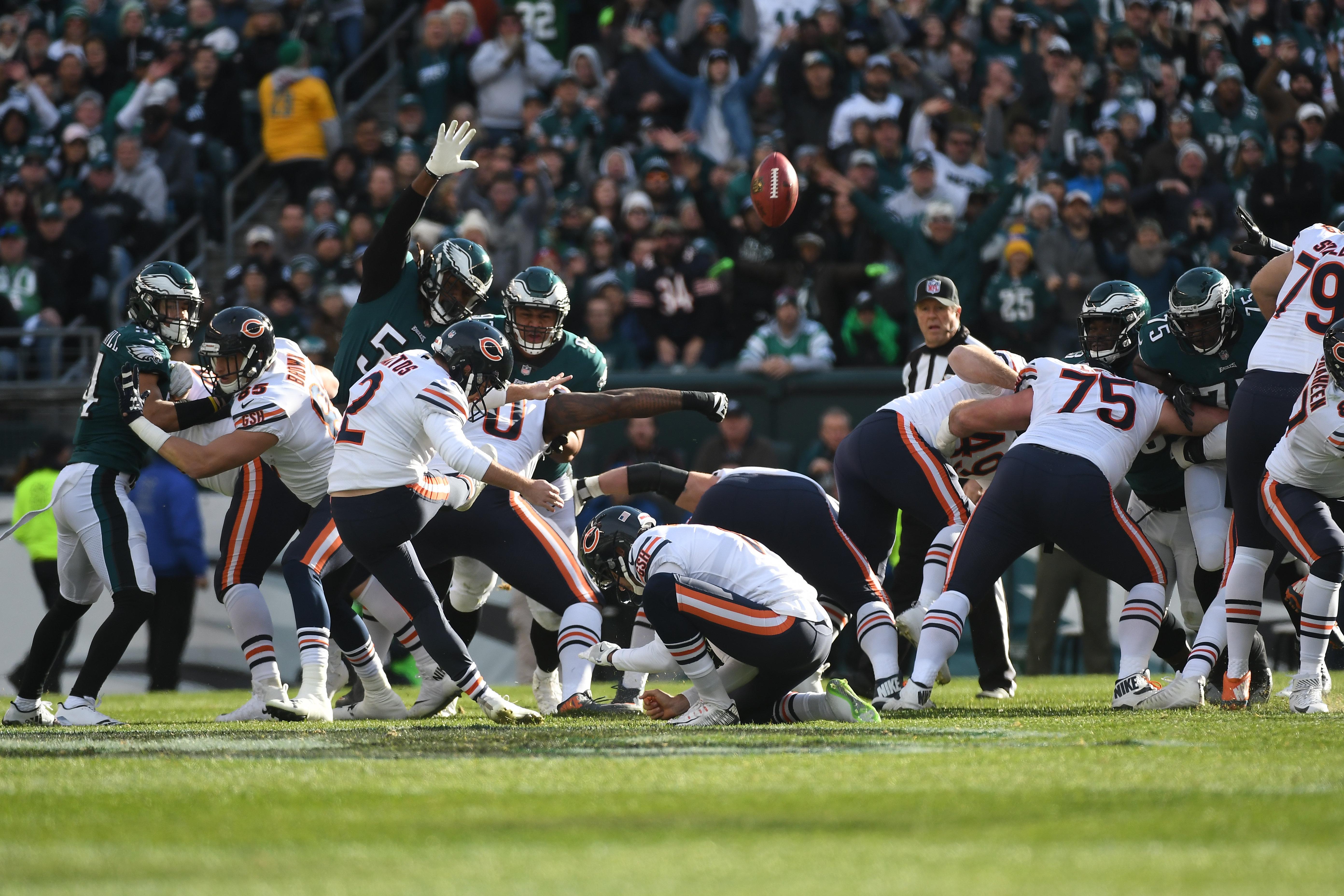 NFL: NOV 26 Bears at Eagles