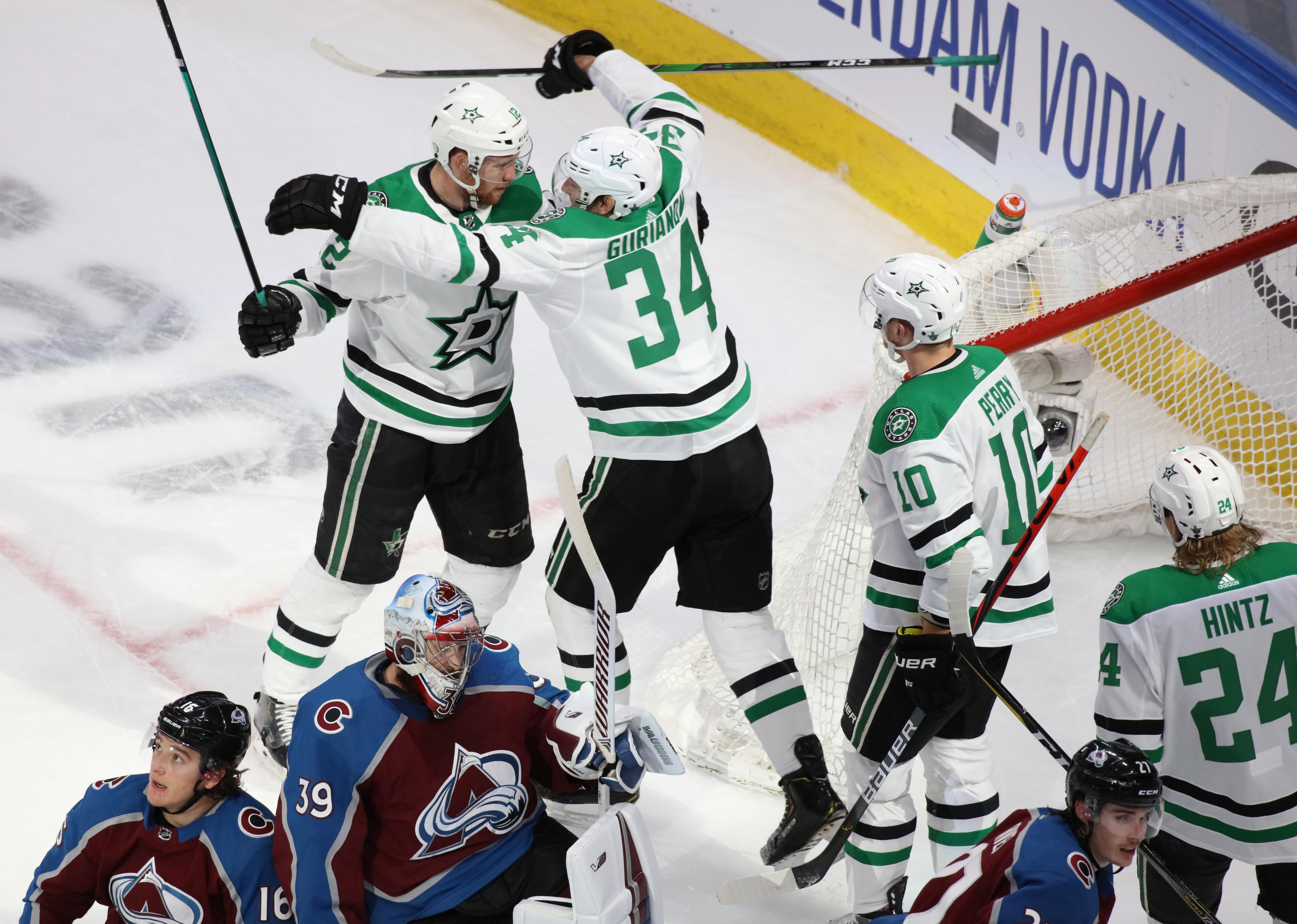 NHL: Stanley Cup Playoffs-Dallas Stars at Colorado Avalanche