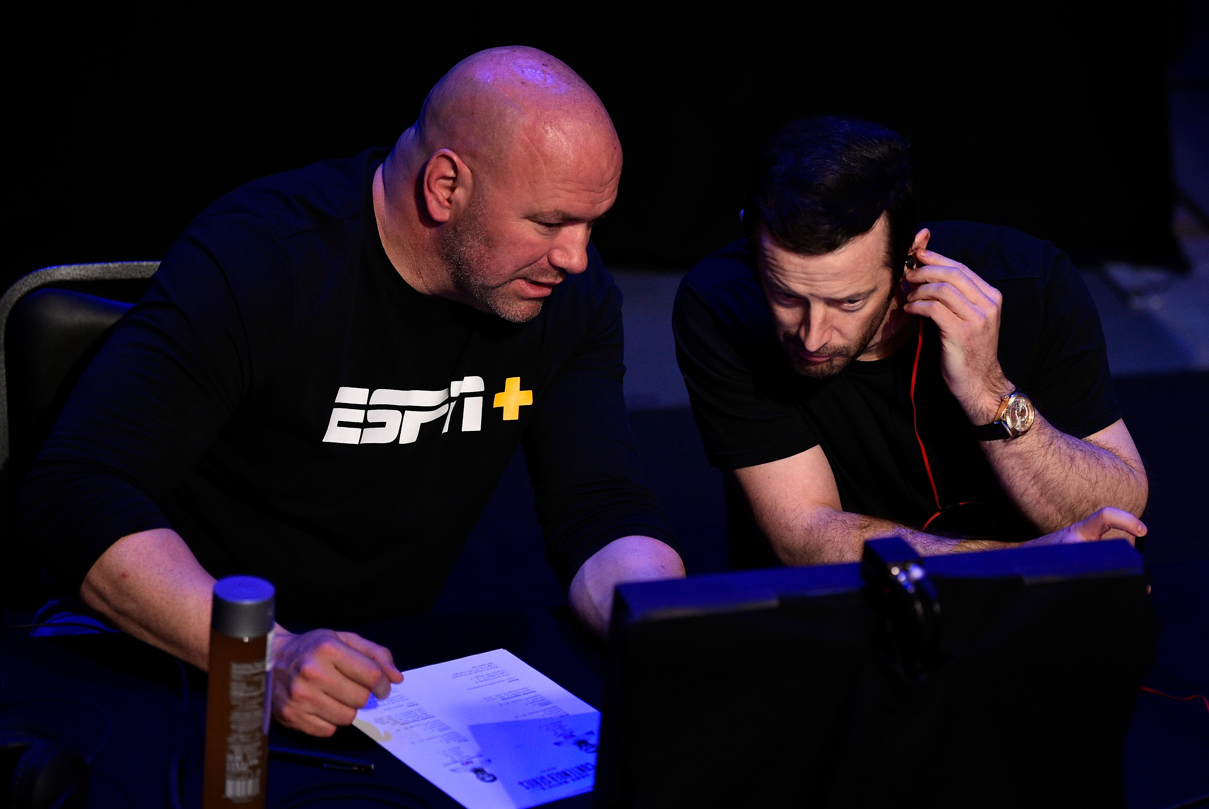 Dana White and UFC matchmaker Sean Shelby