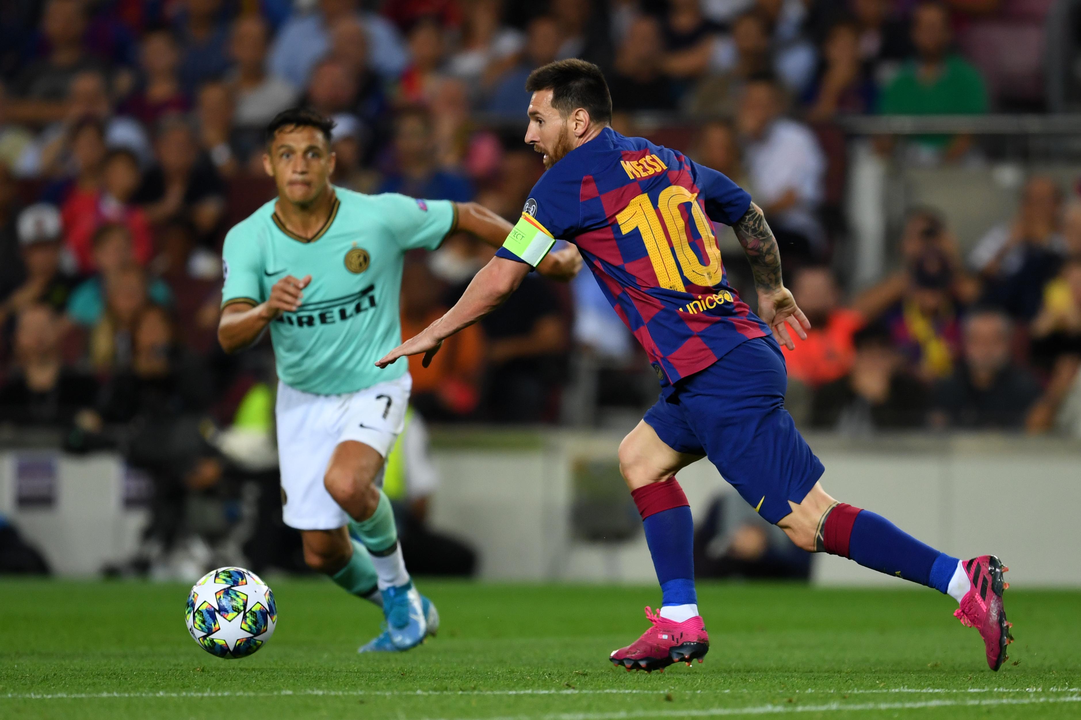 FC Barcelona v Inter: Group F - UEFA Champions League