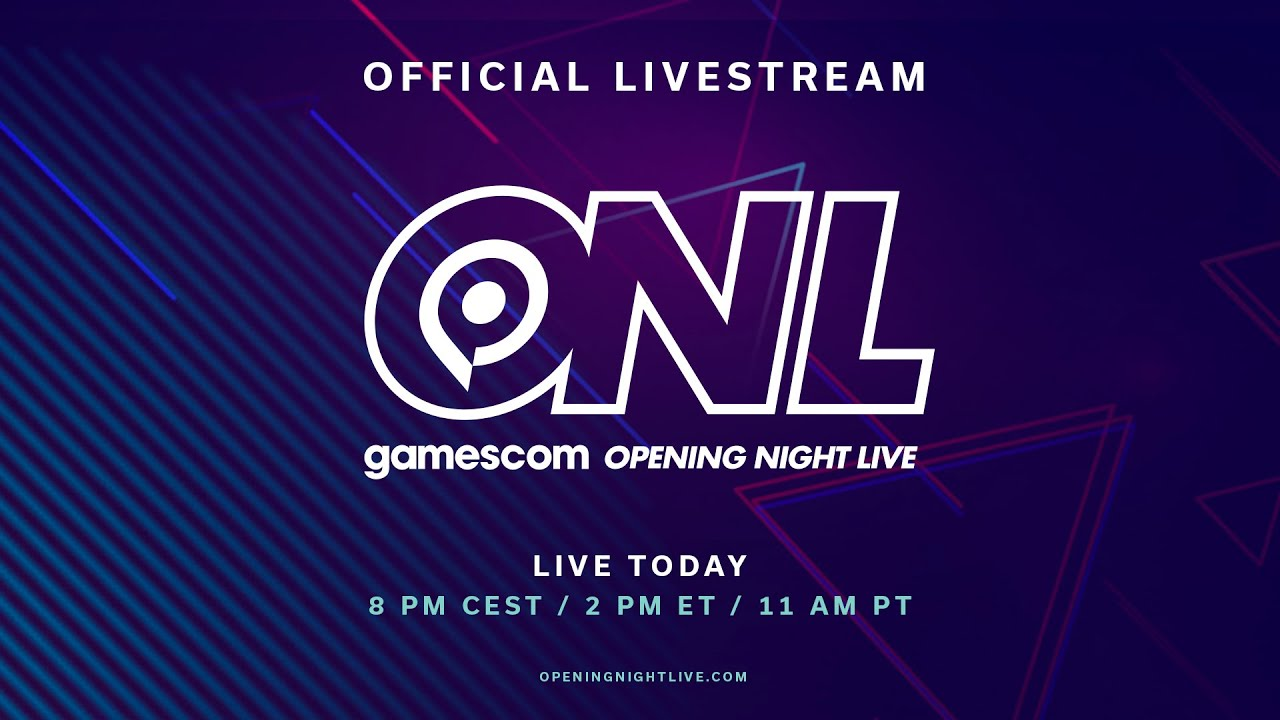 The logo for Gamescom Opening Night Live