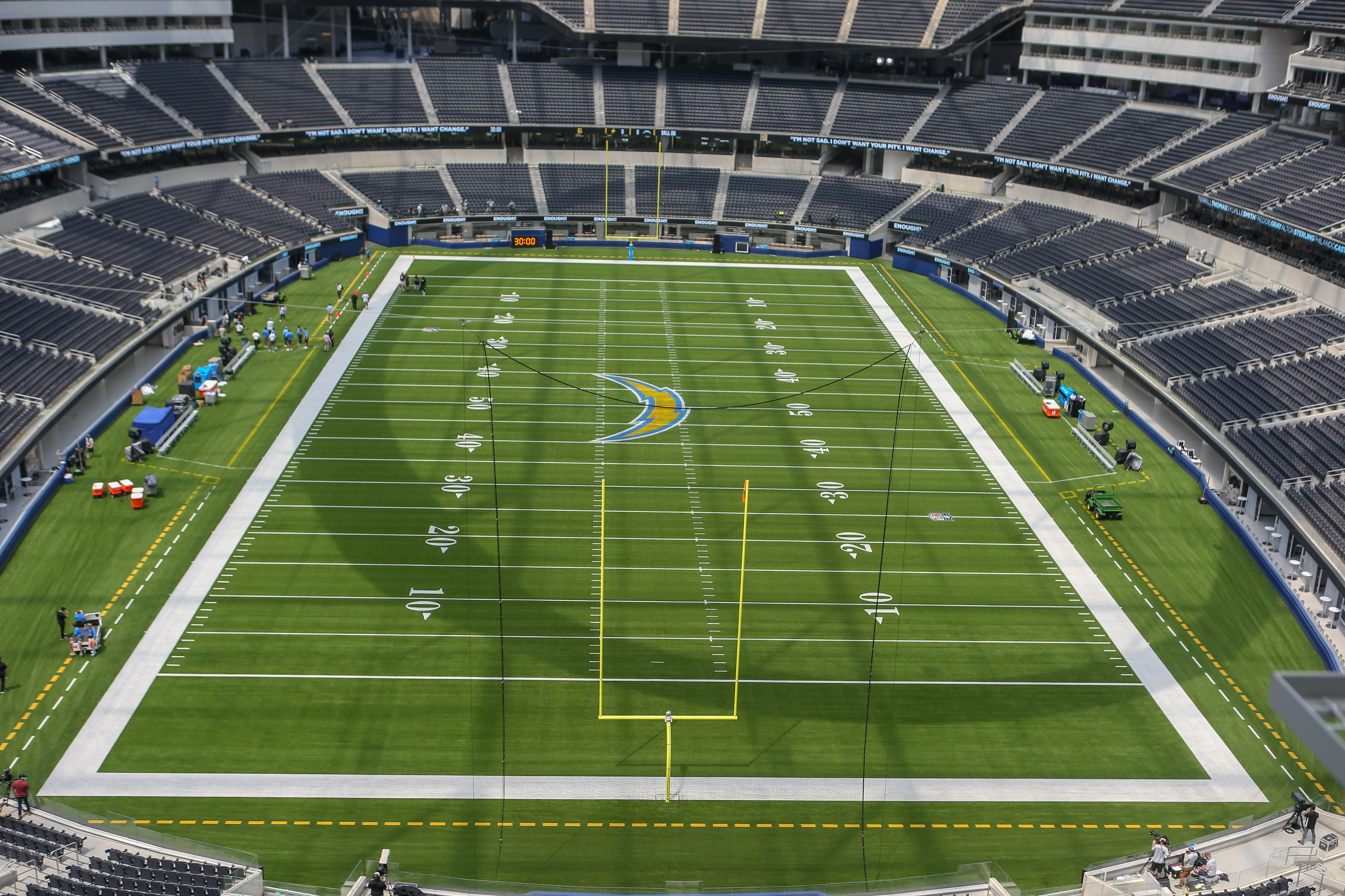 NFL: AUG 27 Chargers Scrimmage