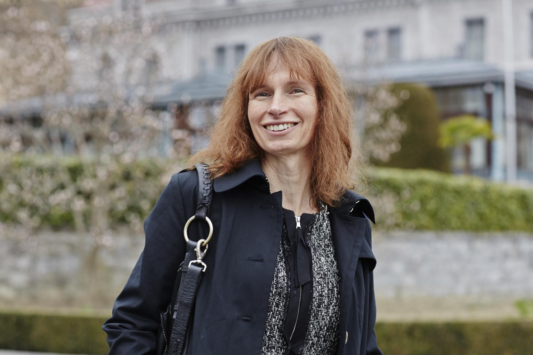Joanna Harper in Lausanne, Switzerland on March 26, 2015.