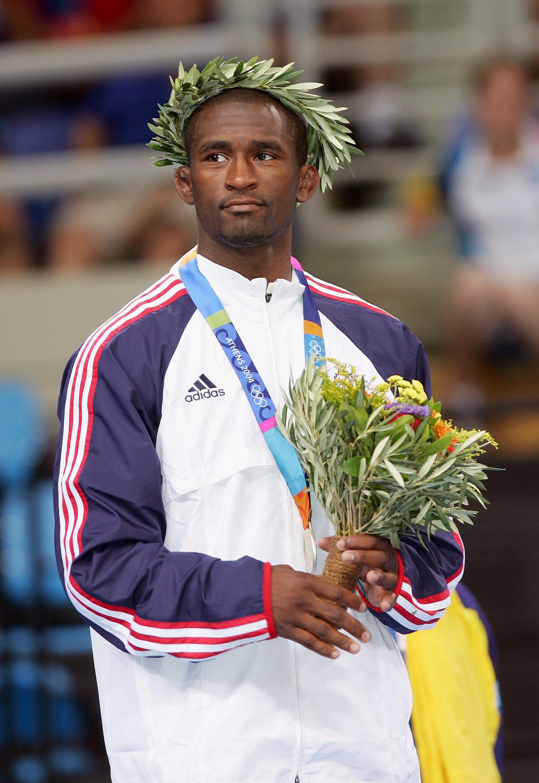 Mens Freestyle 66kg Medal Ceremony