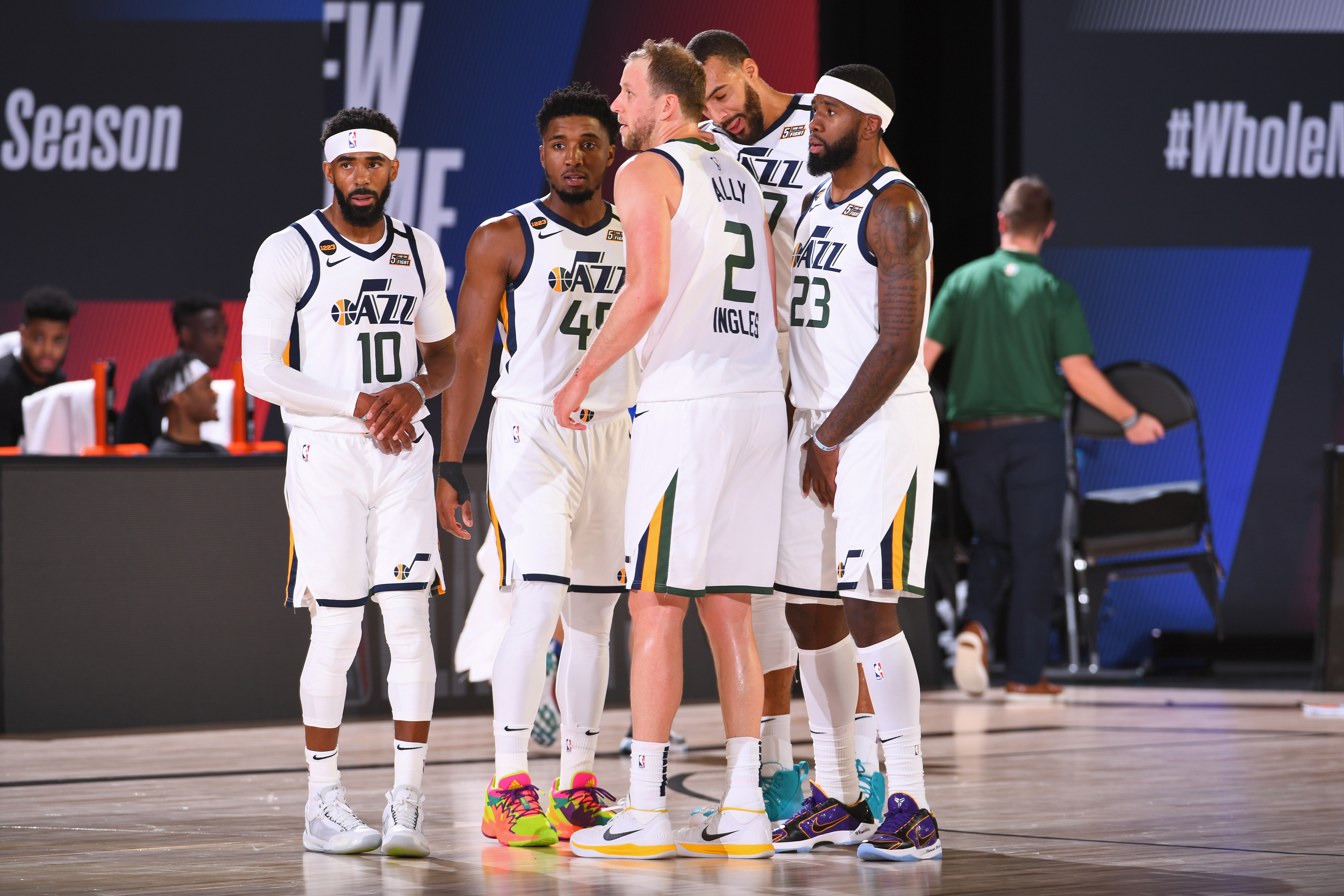 Utah Jazz v Denver Nuggets - Game Five
