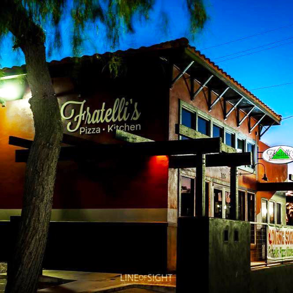 The newly open, casual Italian restaurant Fratelli's Pizza Kitchen on Water Street in Henderson.