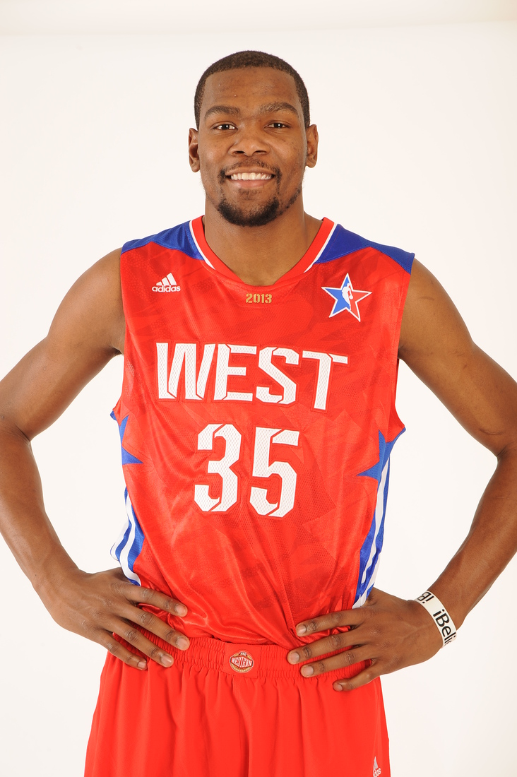 Kevin Durant All Star Game 2013 Player Profiles...