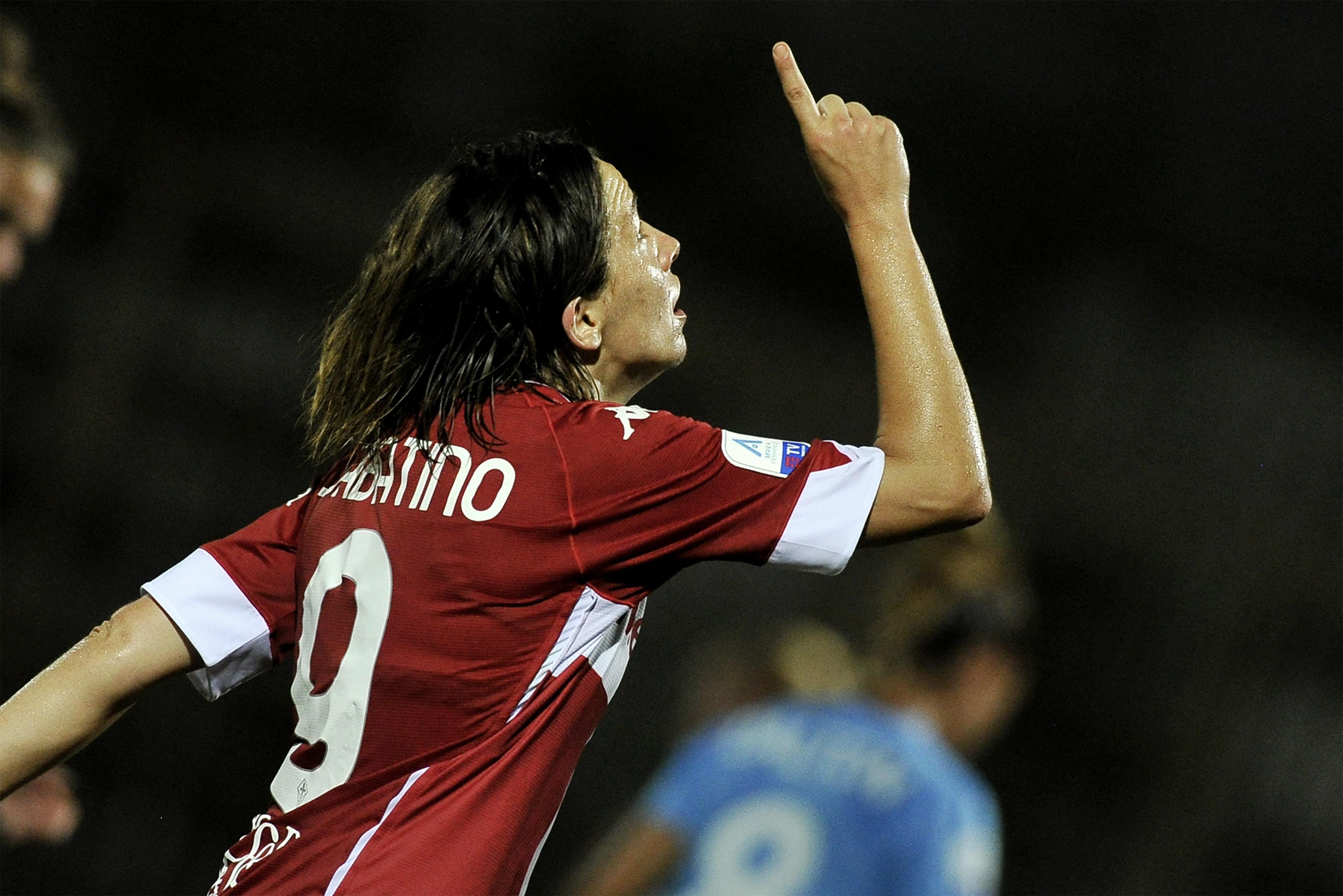 Daniela Sabatino player of Fiorentina, during the match of...