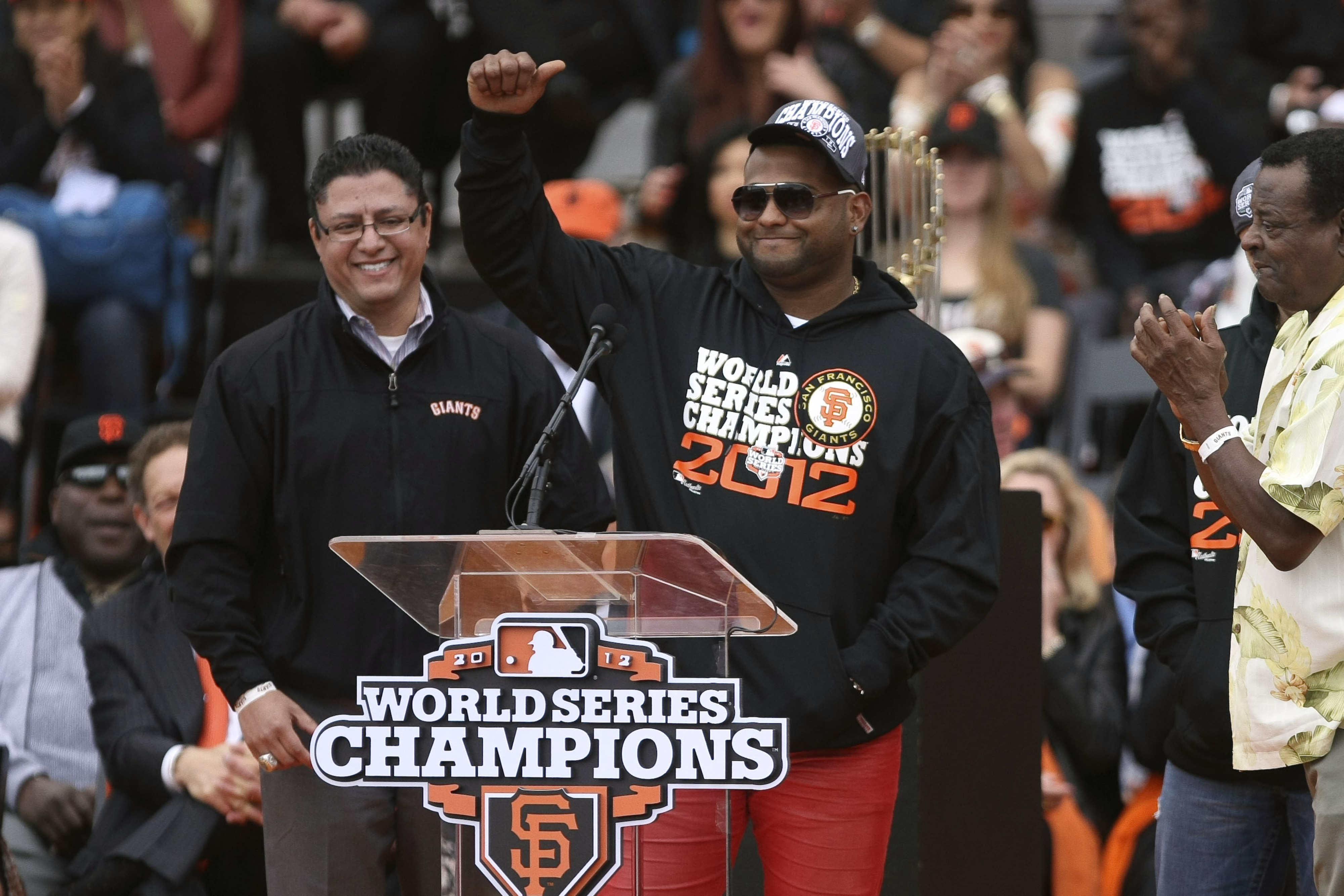 Also the Giants won the World Series in 2012