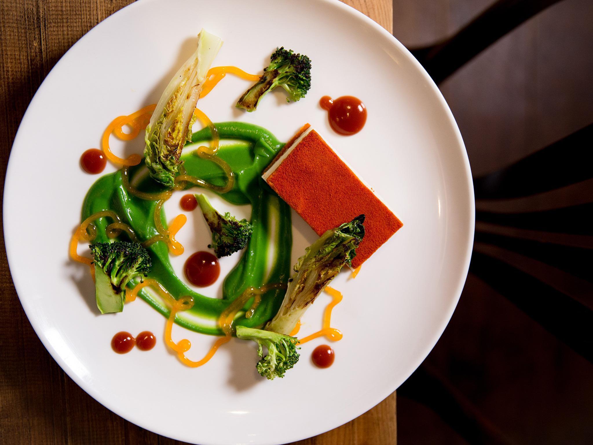 London's best vegetarian restaurants include Vanilla Black