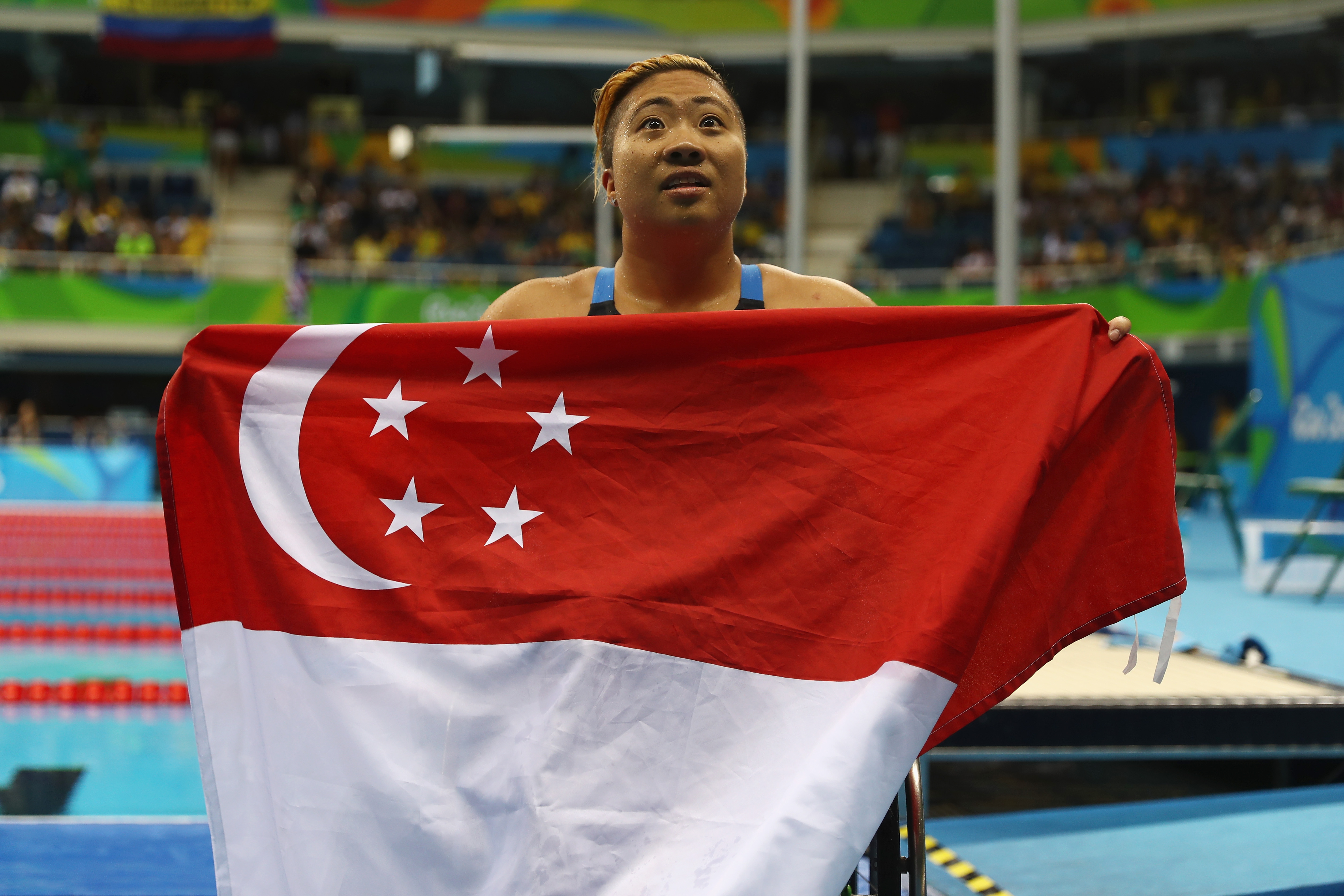 2016 Rio Paralympics - Day 4, Theresa Goh, Singapore, lesbian, swimmer, retiring, retires, disabled, disabilities, wheelchair