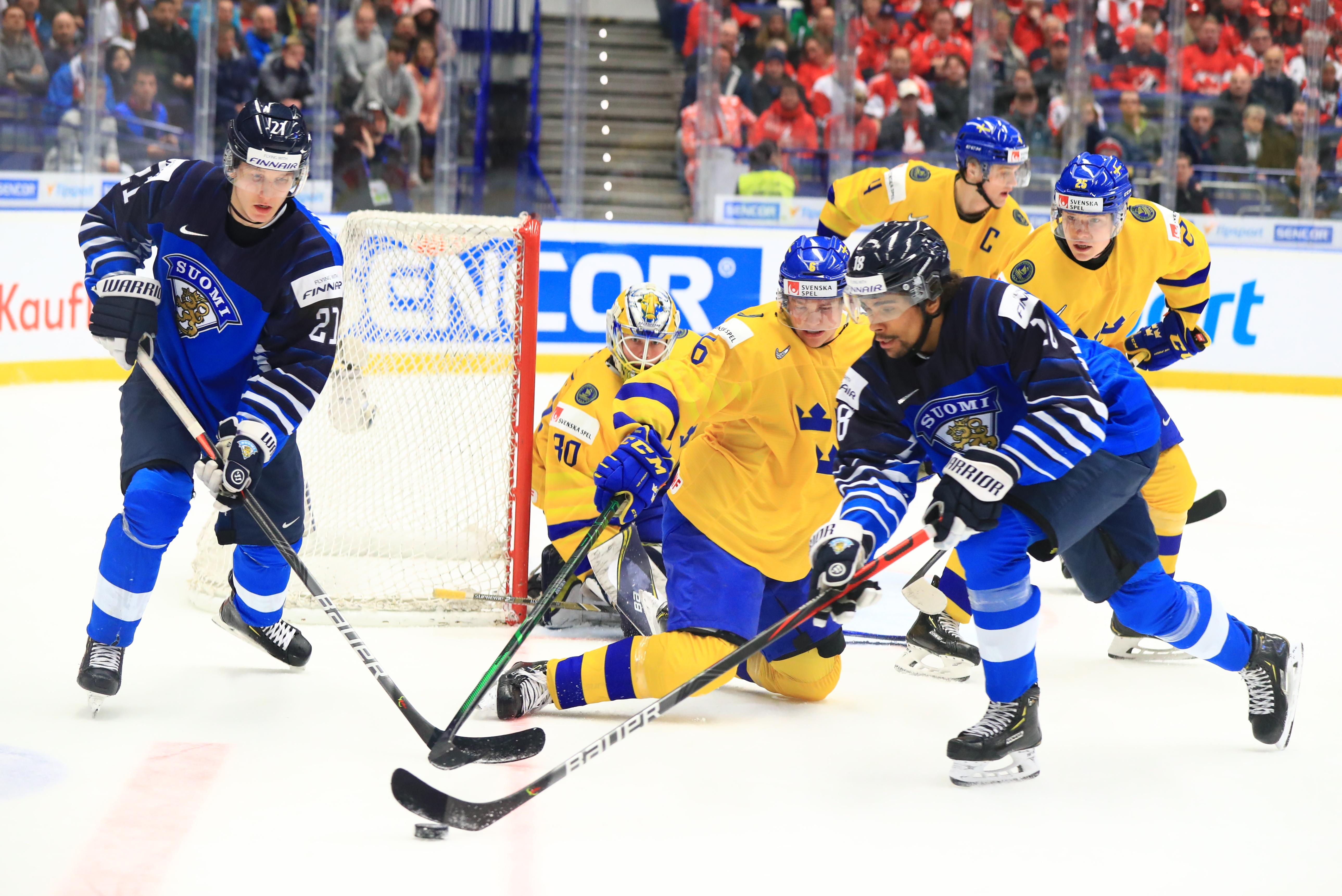 2020 World Junior Ice Hockey Championship, bronze medal match: Sweden vs Finland