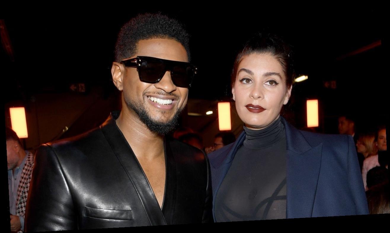 Usher and Jenn Goicoechea