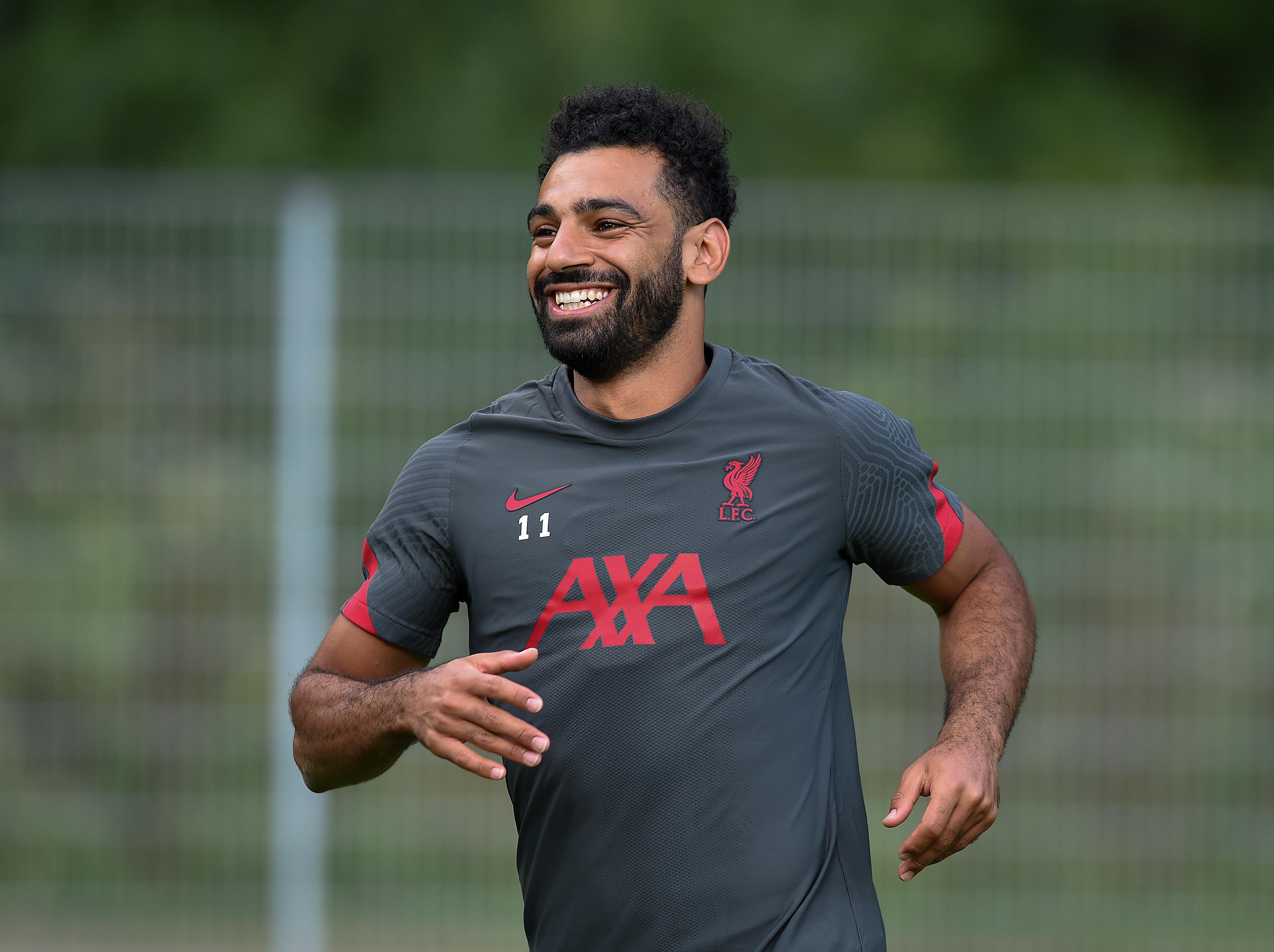 Mohamed Salah - Liverpool Pre-Season Training Session - Premier League
