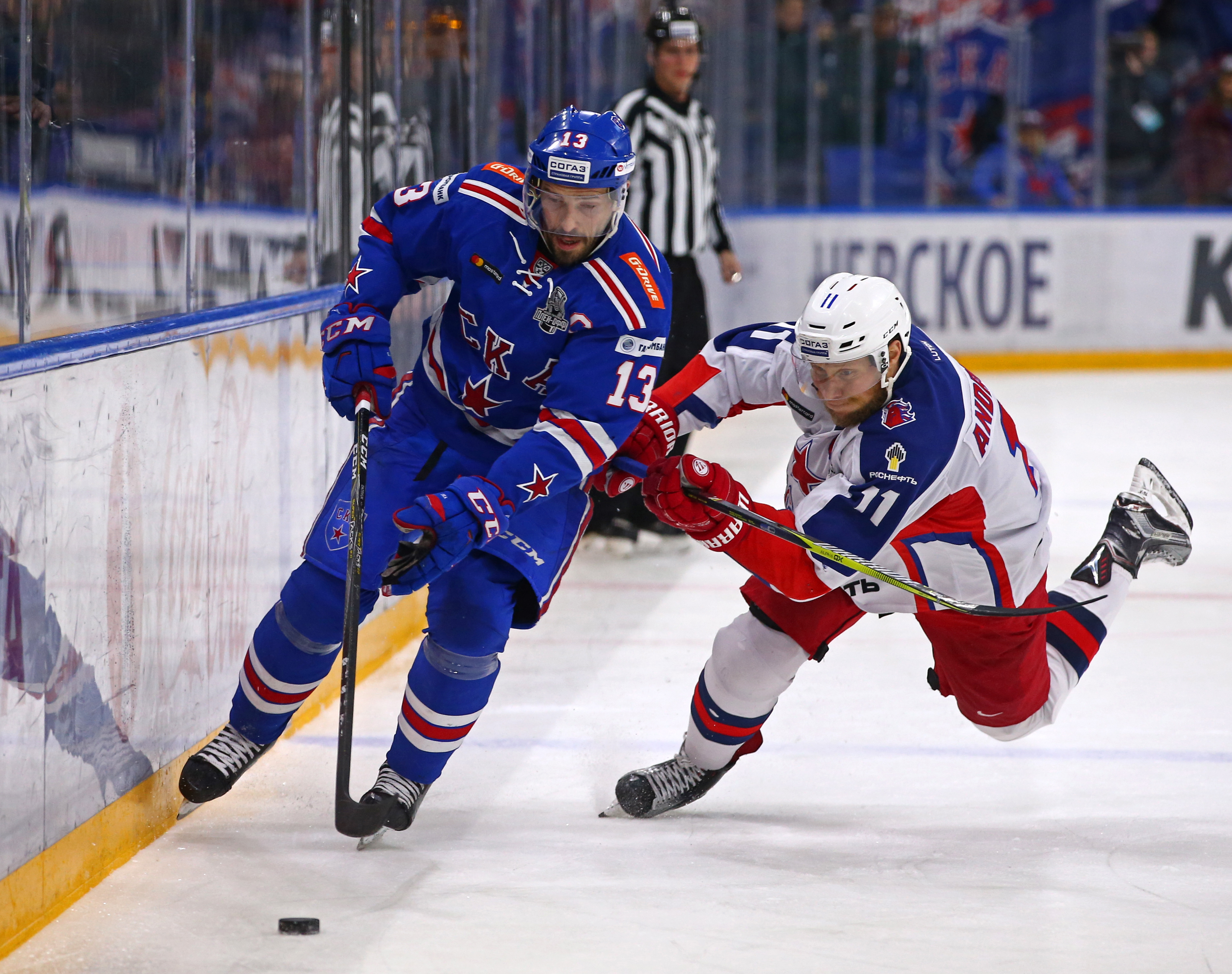 Kontinental Hockey League Western Conference Final: SKA St Petersburg vs CSKA Moscow