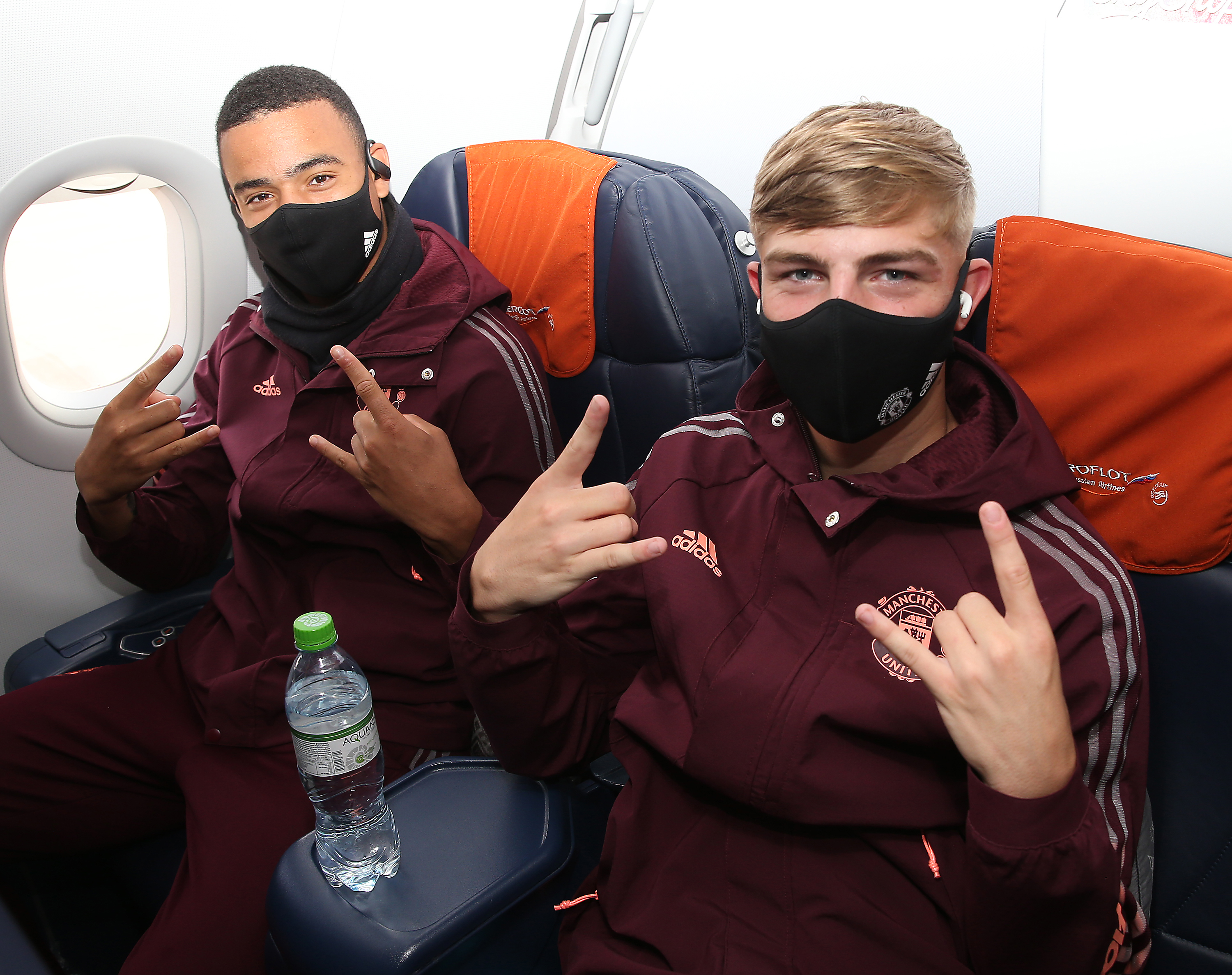 Manchester United Depart for Germany for the Europa League