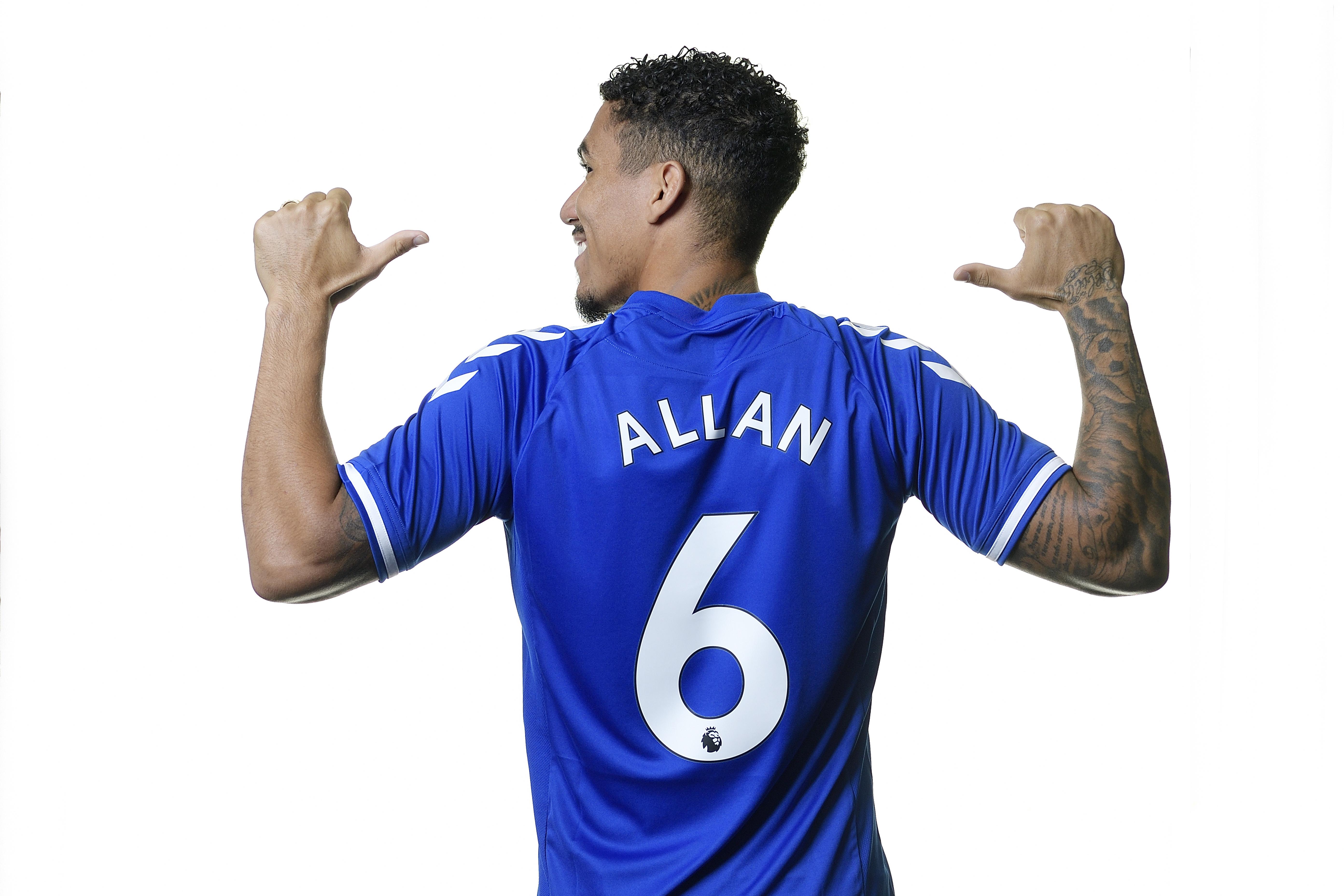 Everton Unveil New Signing Allan