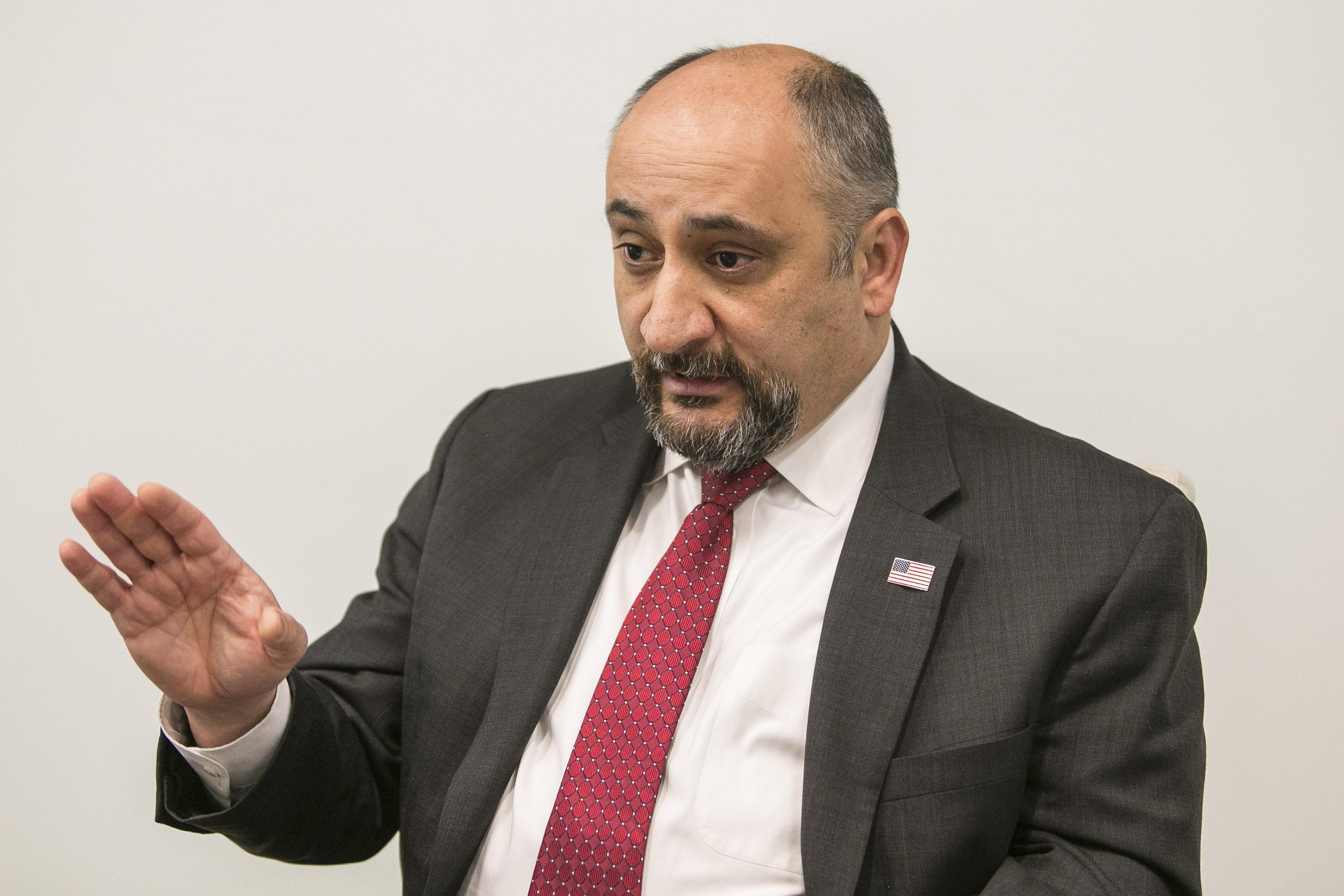 Sargis Sangari, 9th Congressional District Republican nominee, candidate questionnaire, 2020 election