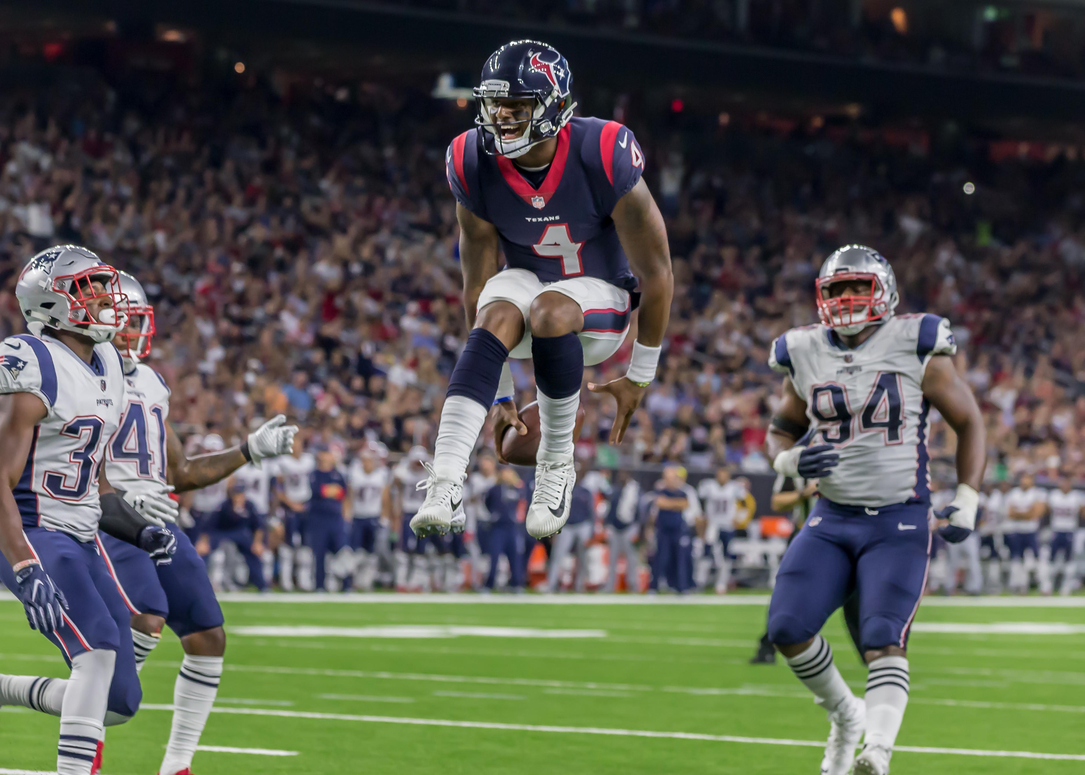 NFL: AUG 19 Preseason - Patriots at Texans