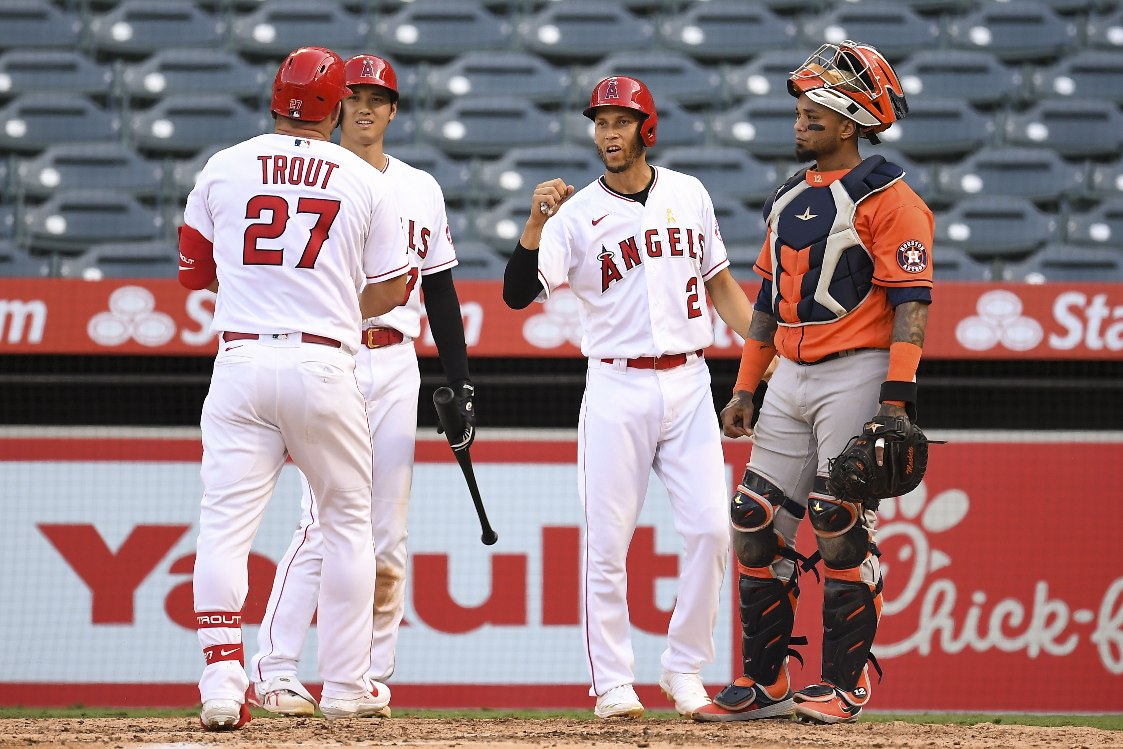MLB: Game One-Houston Astros at Los Angeles Angels