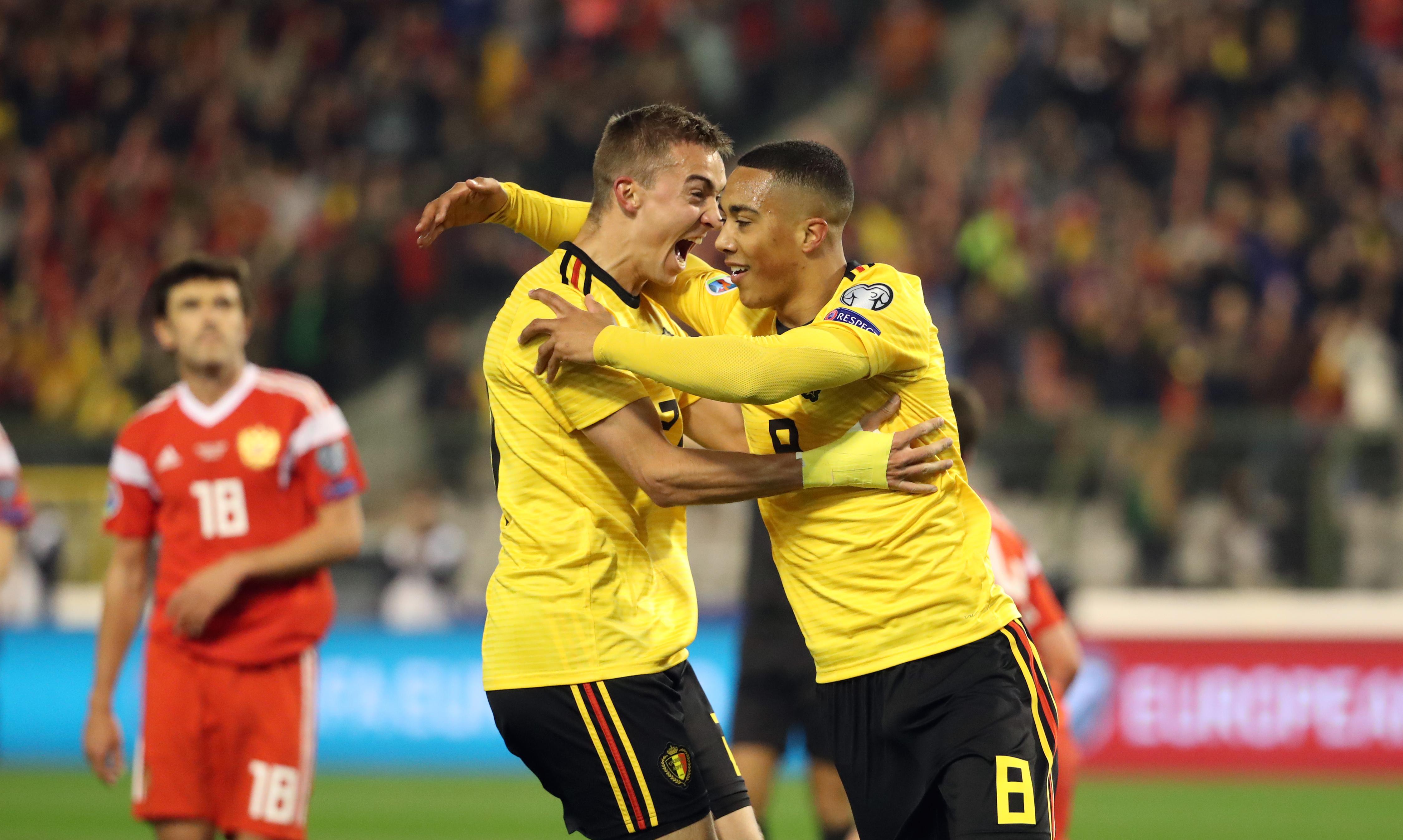 Belgium v Russia - UEFA EURO 2020 Qualifier