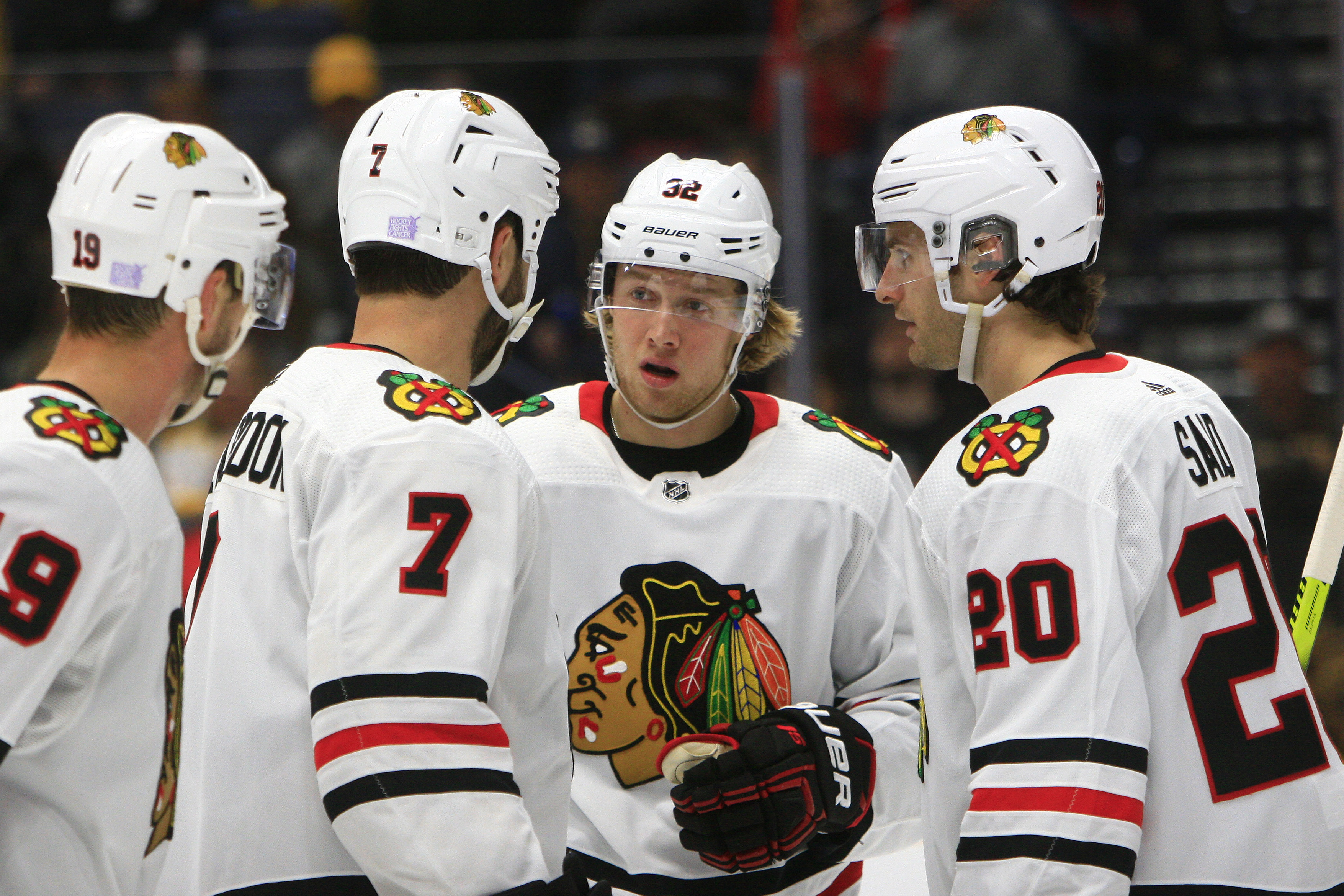 NHL: NOV 16 Blackhawks at Predators
