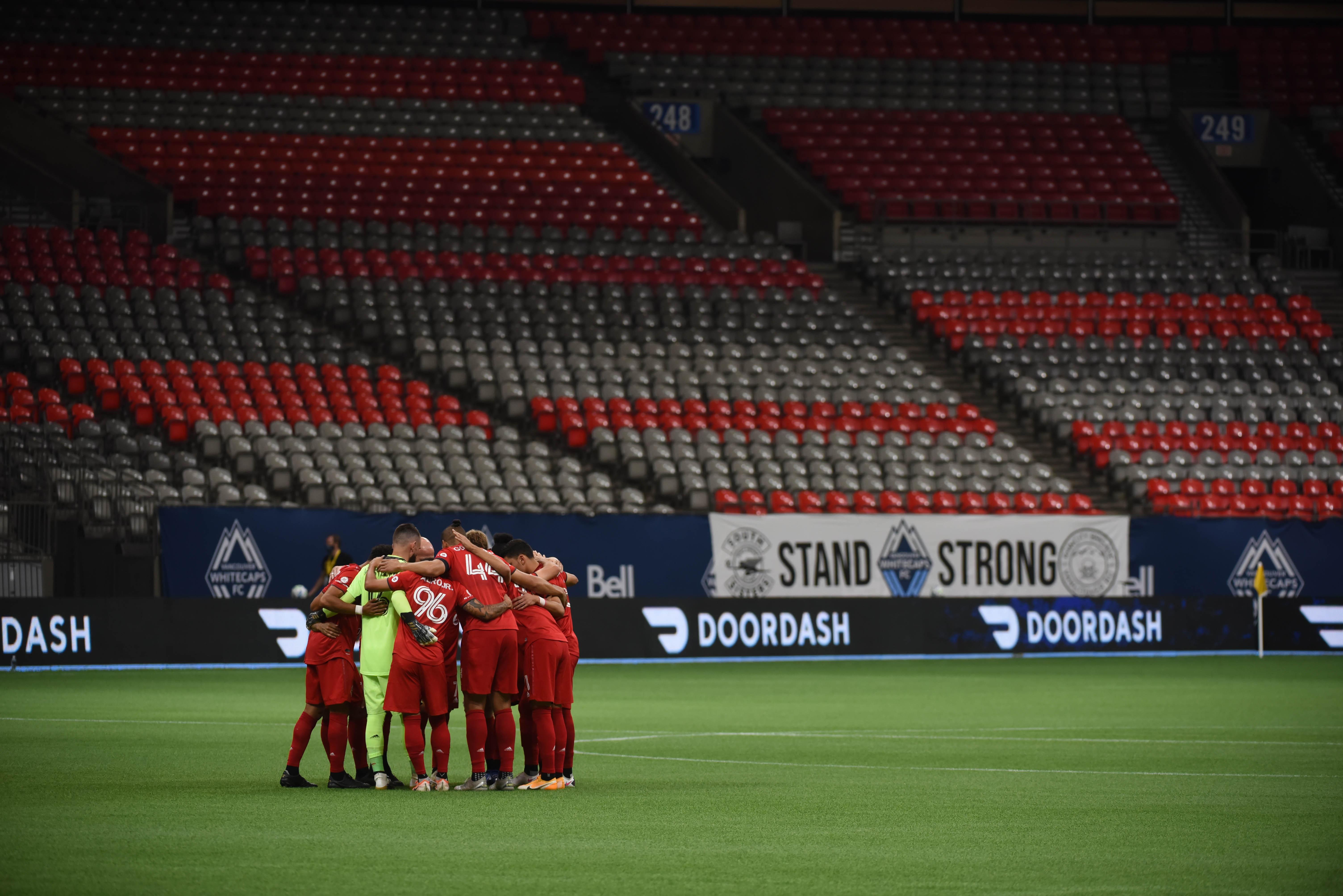 MLS: Toronto FC at Vancouver Whitecaps FC