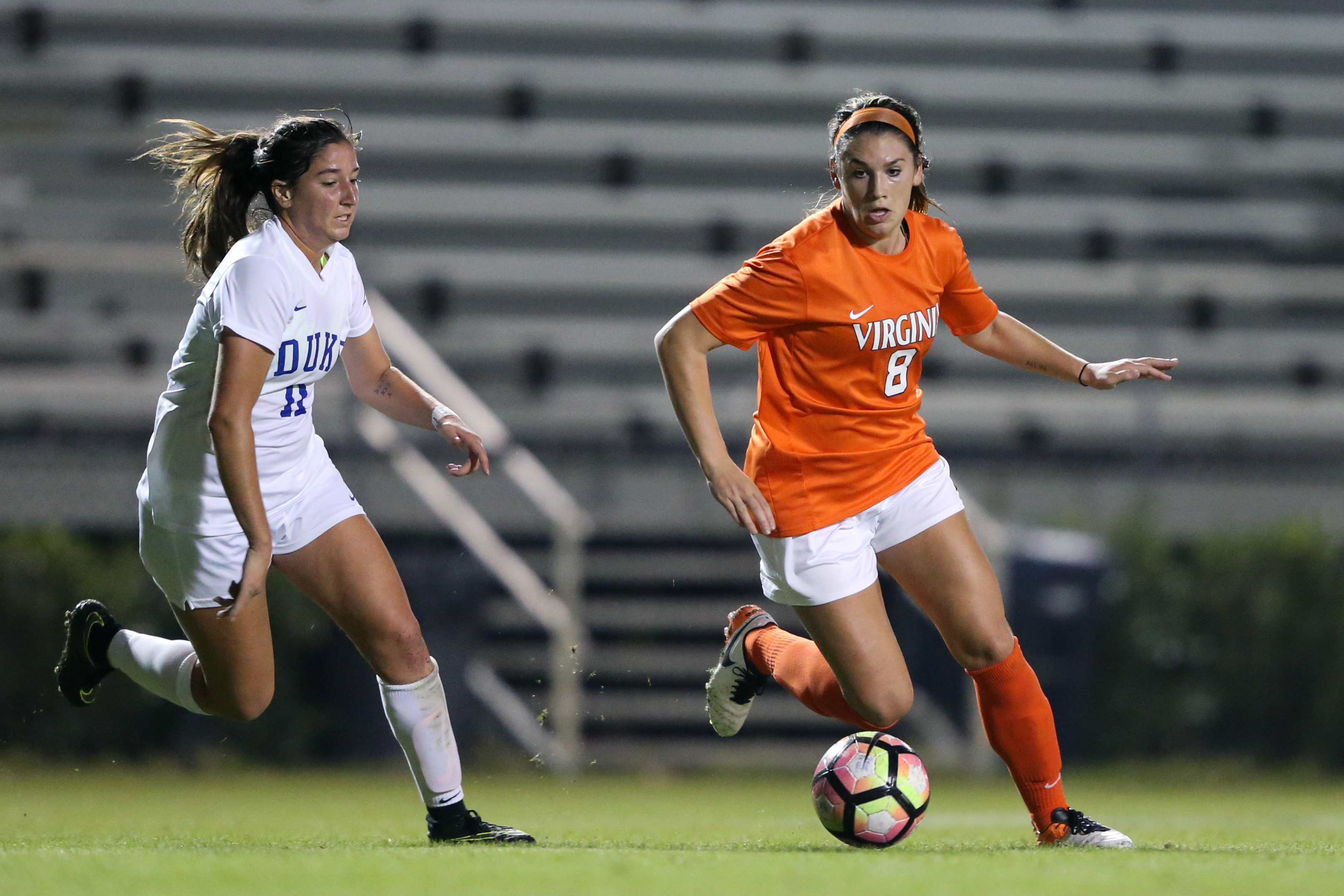 NCAA SOCCER: OCT 15 Women's - Virginia at Duke