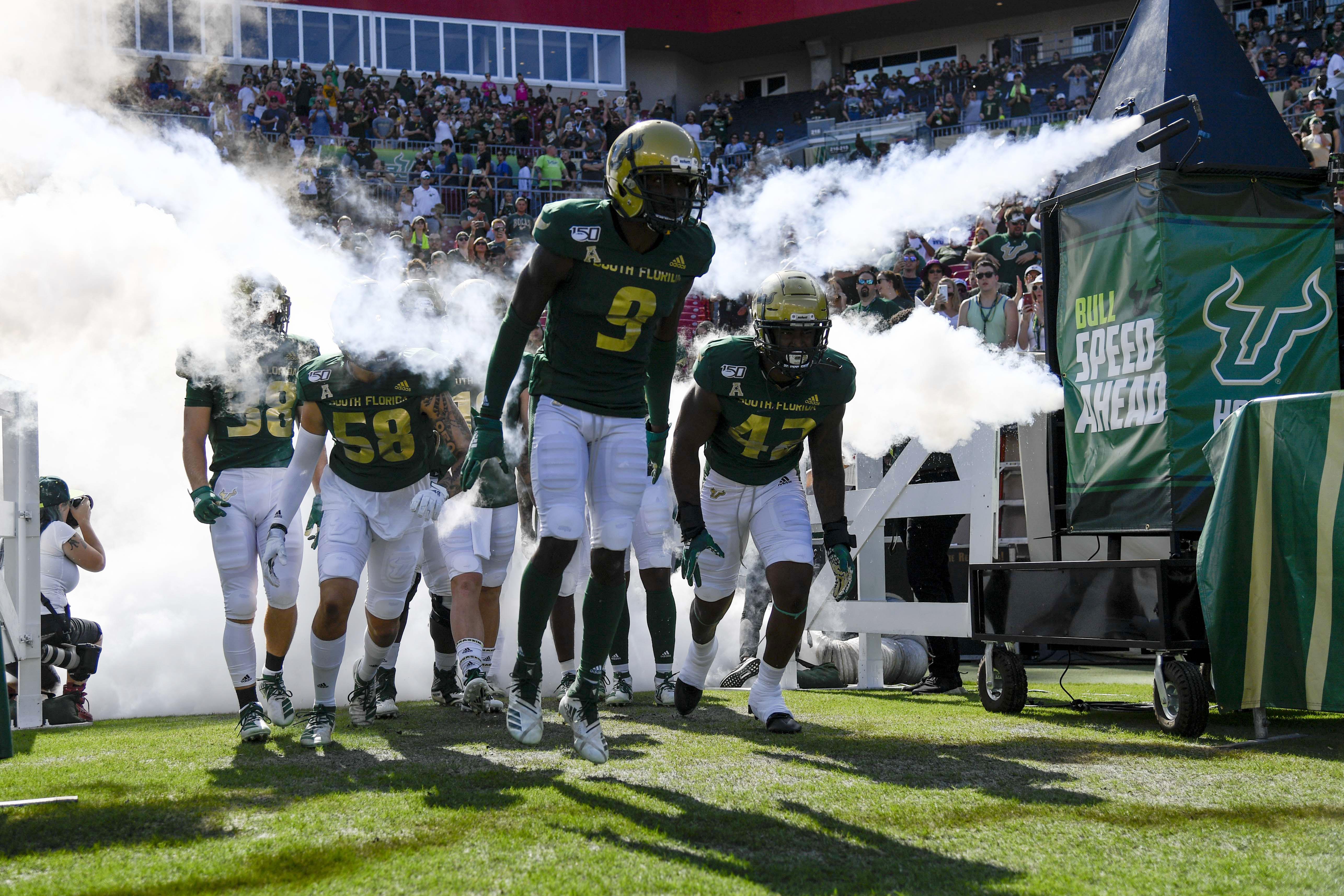 NCAA Football: Brigham Young at South Florida