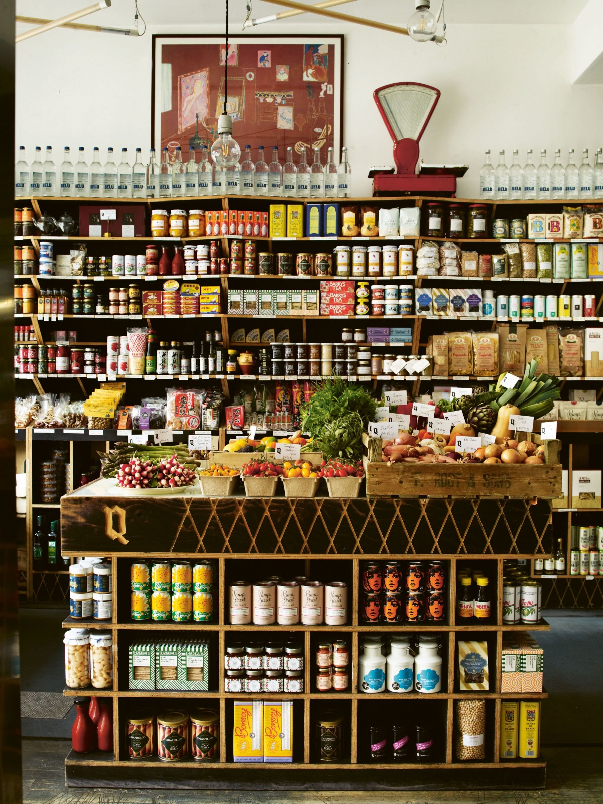 Quality Chop Shop, Clerkenwell, one of the best places in London to buy fine food and provisions during the novel coronavirus COVID-19 pandemic