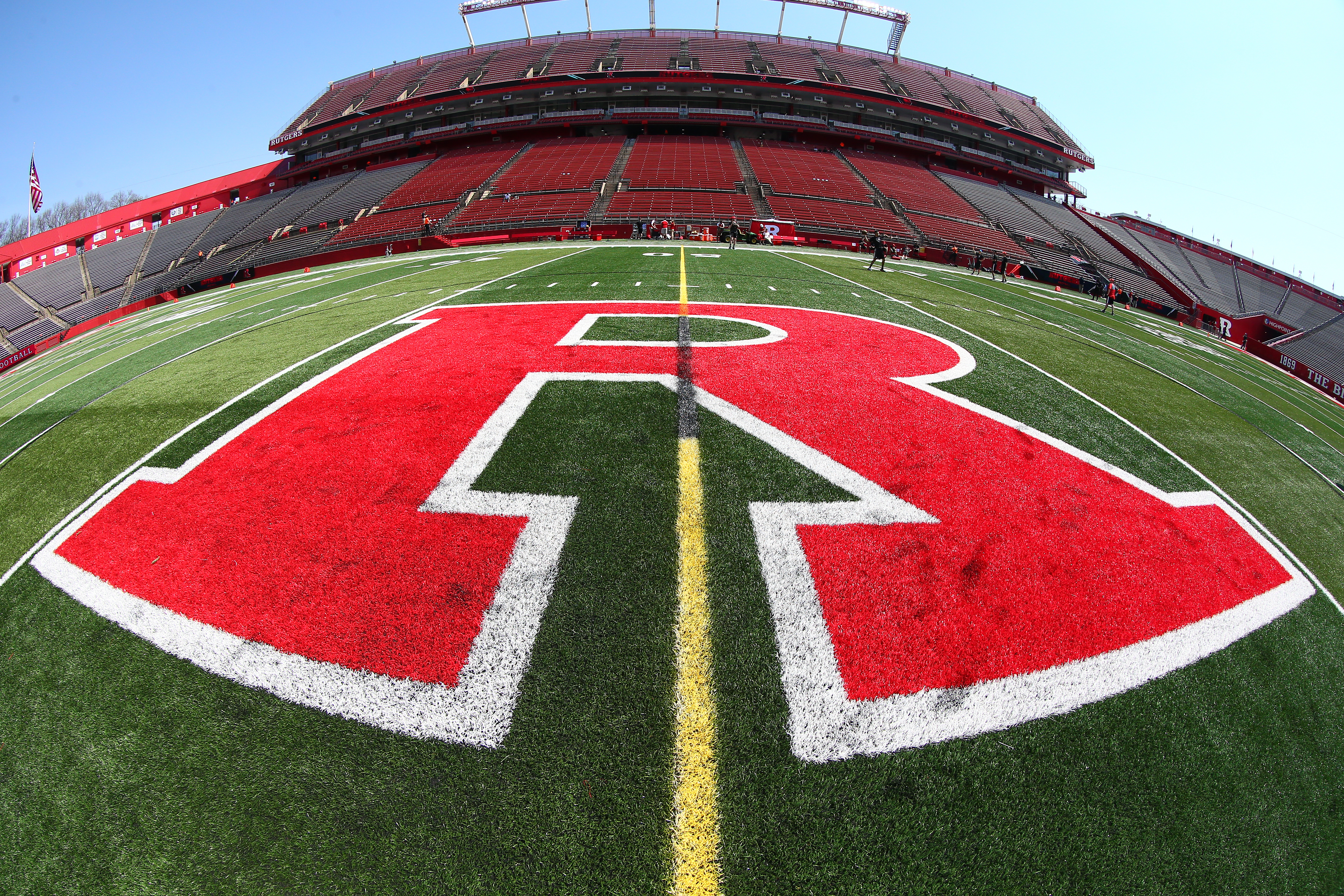 COLLEGE FOOTBALL: APR 14 Rutgers Spring Game