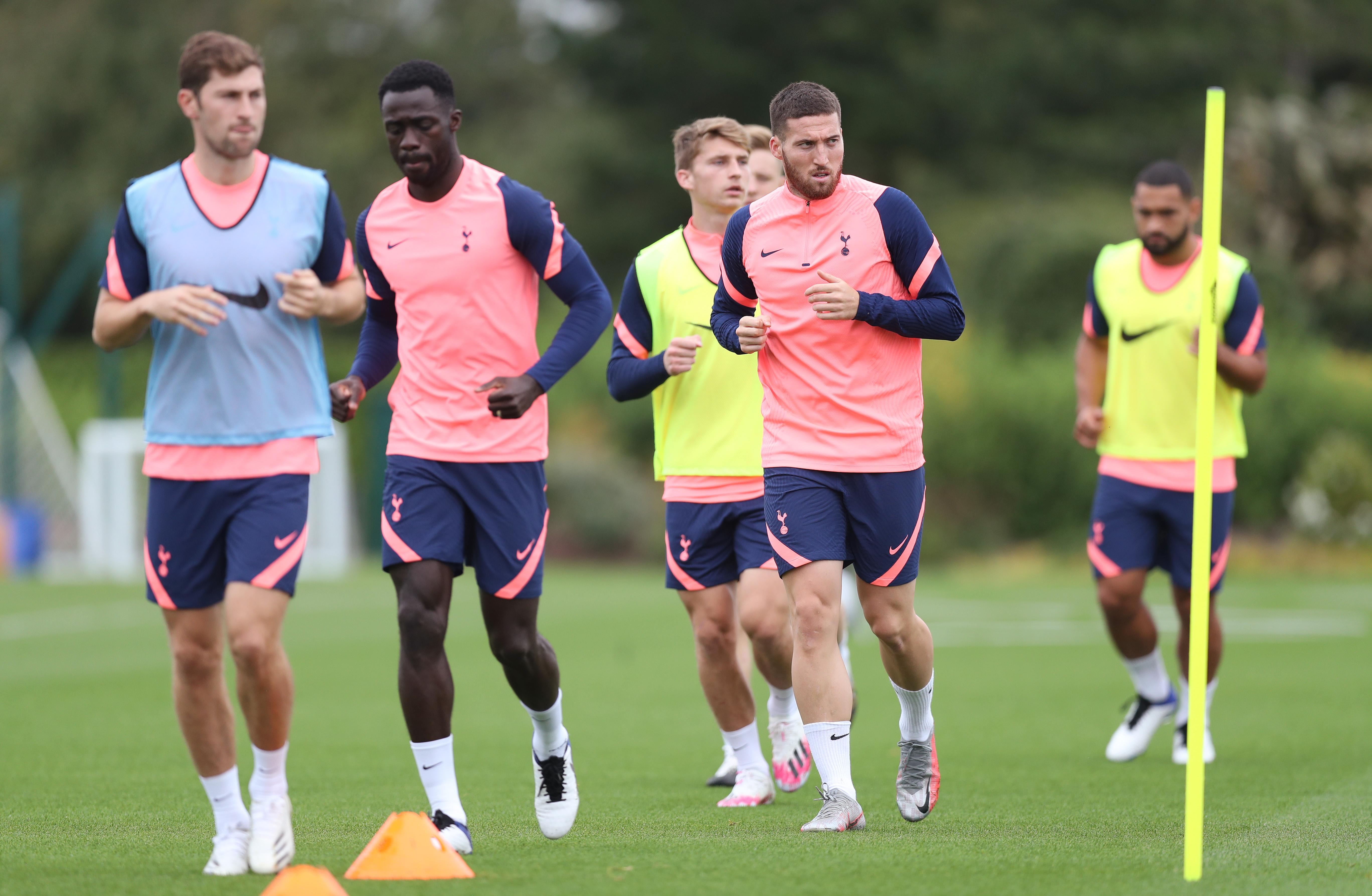Tottenham Hotspur Training Session