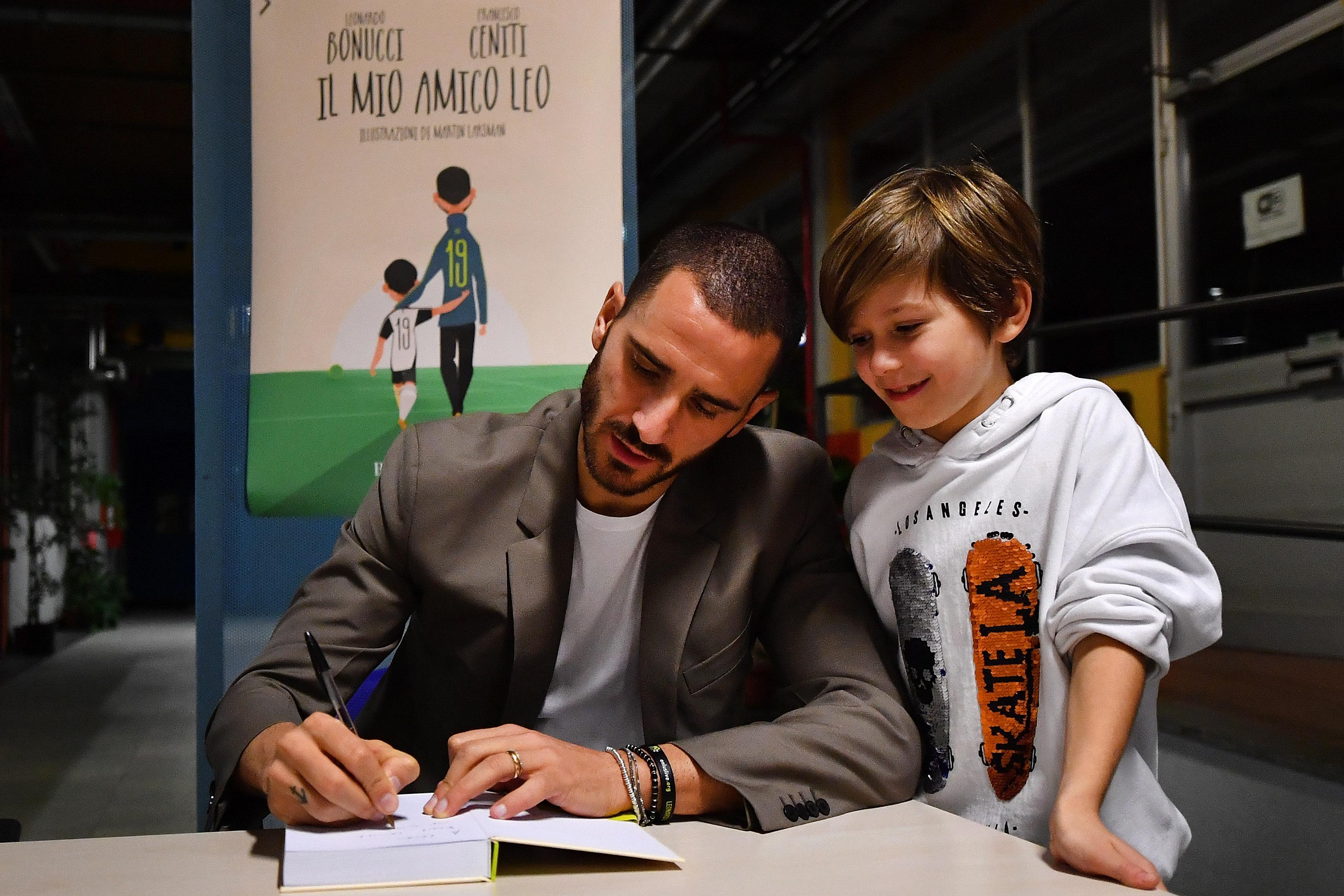 Juventus Player Leonardo Bonucci Unveils His New Book