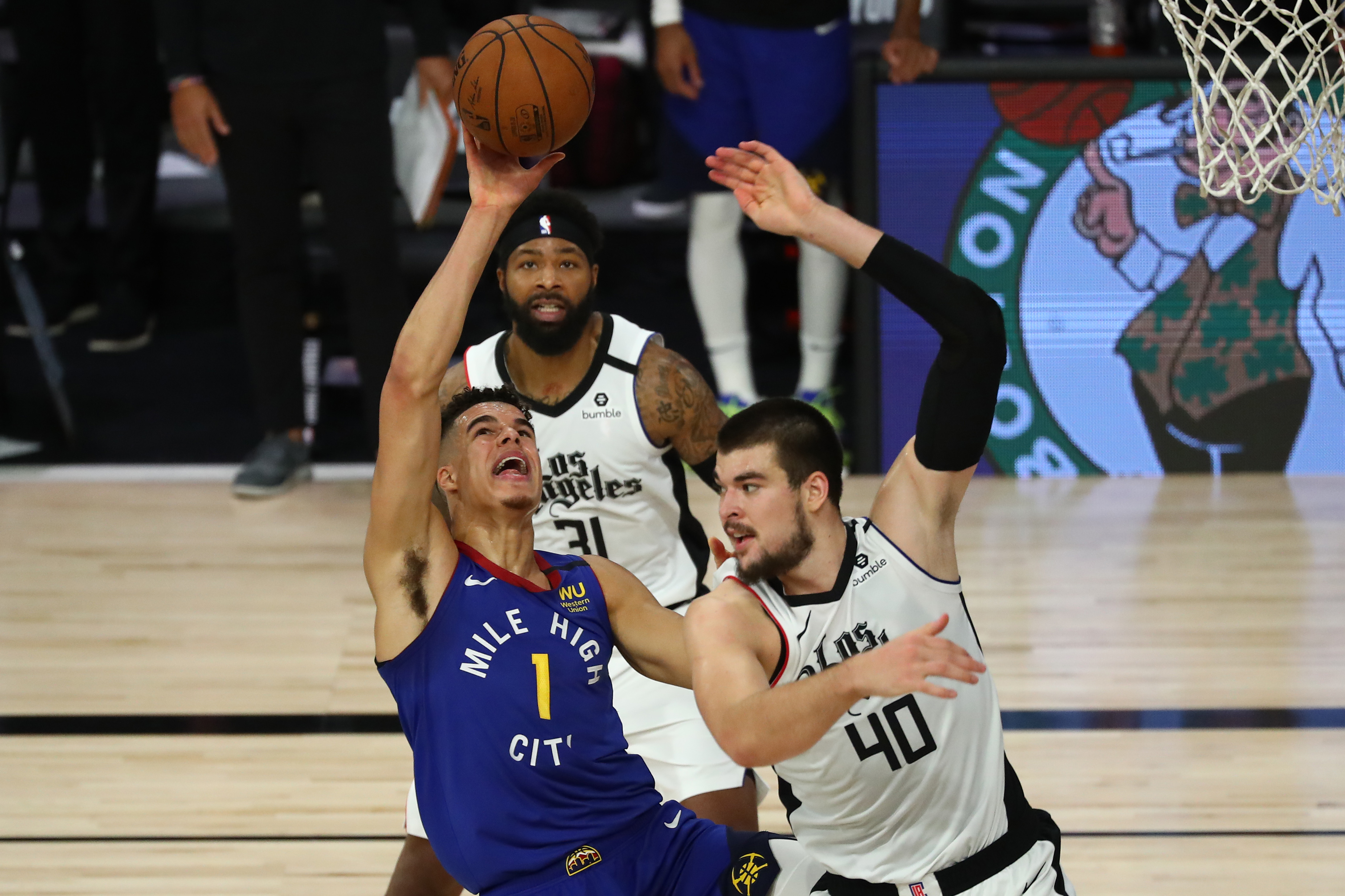NBA: Playoffs-Denver Nuggets at Los Angeles Clippers